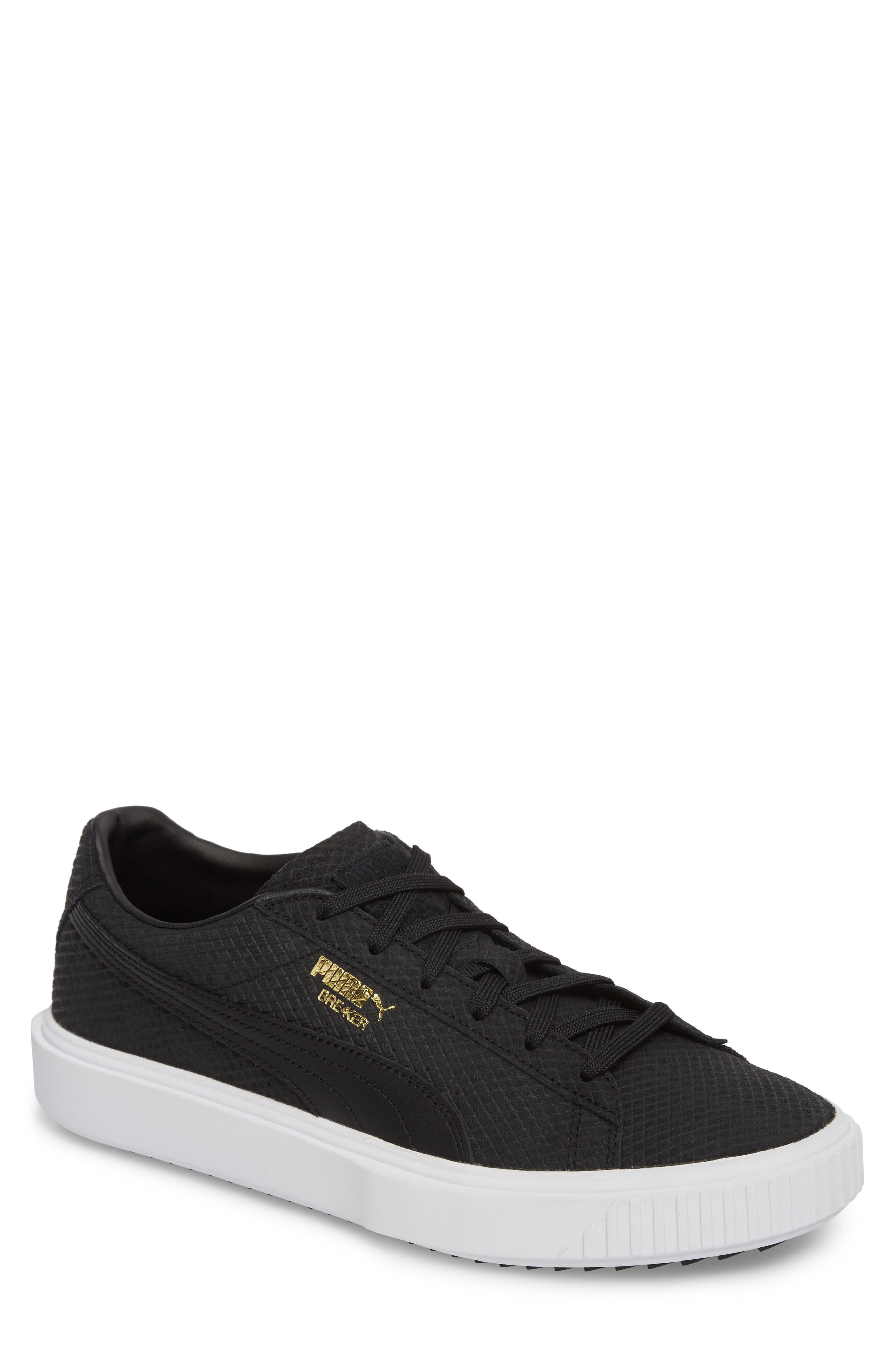 Breaker Sneaker (Men,                         Main,                         color, Black