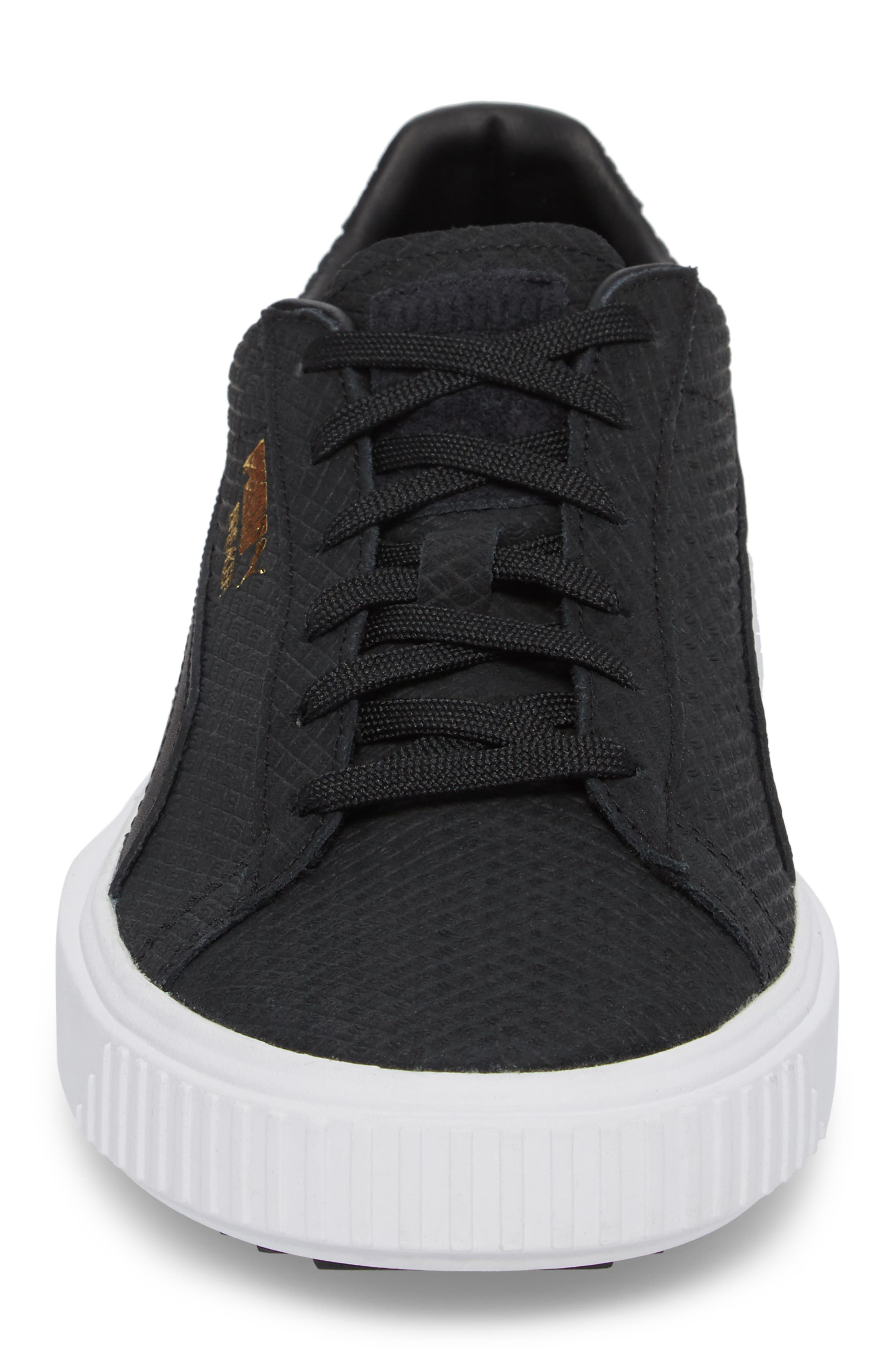 Breaker Sneaker (Men,                             Alternate thumbnail 4, color,                             Black