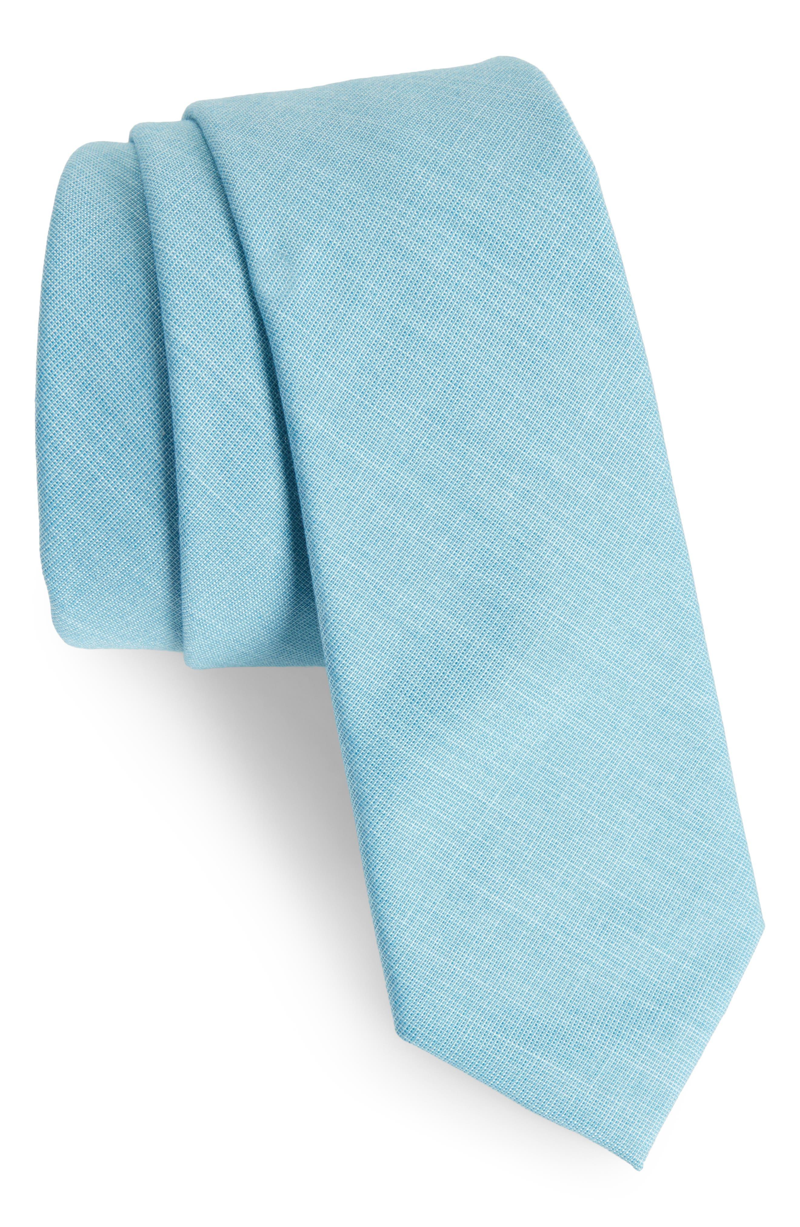 Alternate Image 1 Selected - Nordstrom Men's Shop Jeffry Solid Skinny Tie