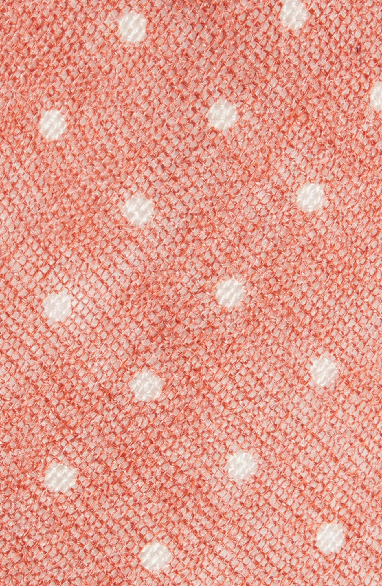 Bradford Dot Tie,                             Alternate thumbnail 2, color,                             Orange