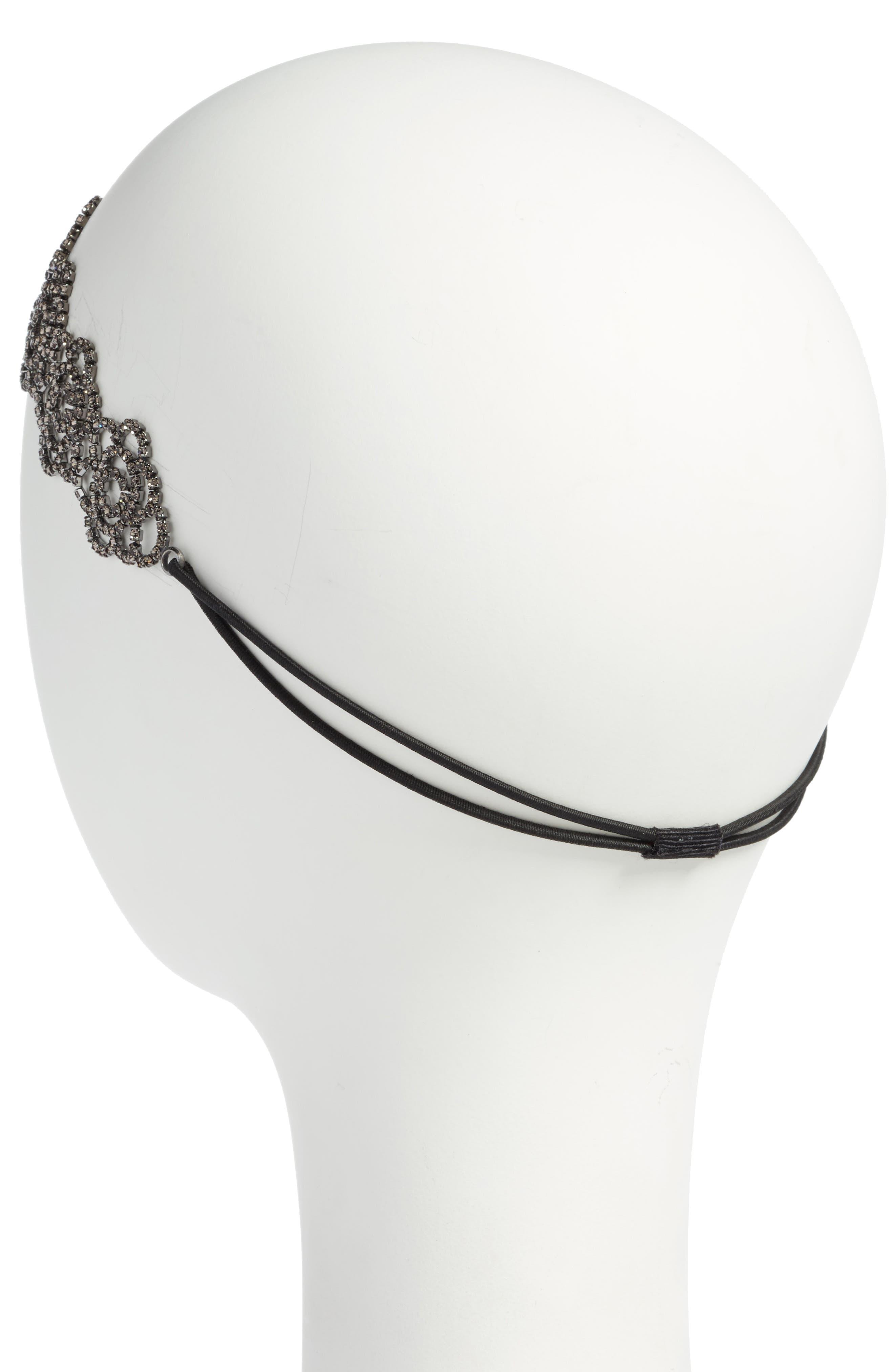 Alternate Image 2  - Tasha Botanical Crystal Head Wrap