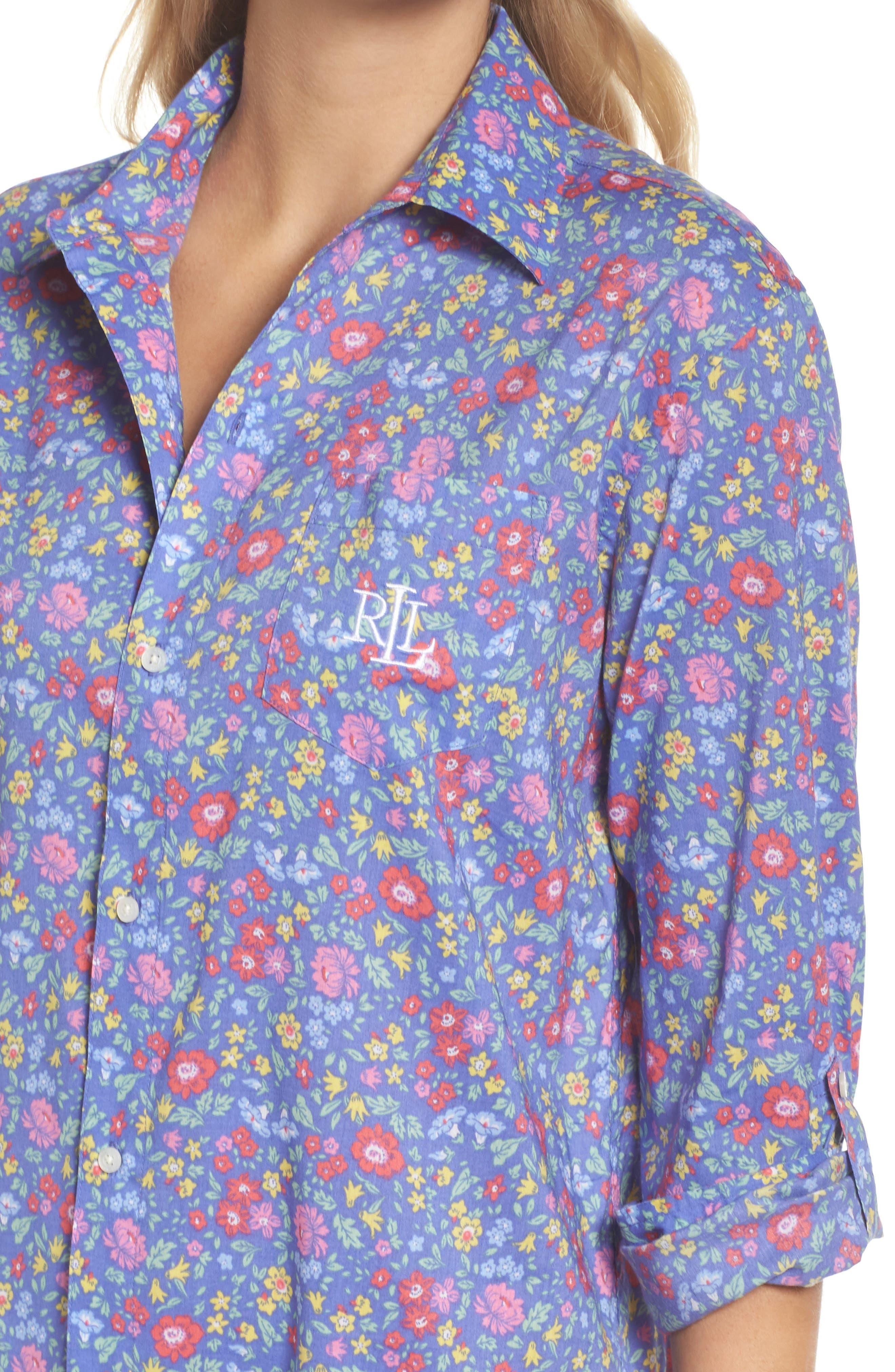 Alternate Image 5  - Lauren Ralph Lauren His Night Shirt