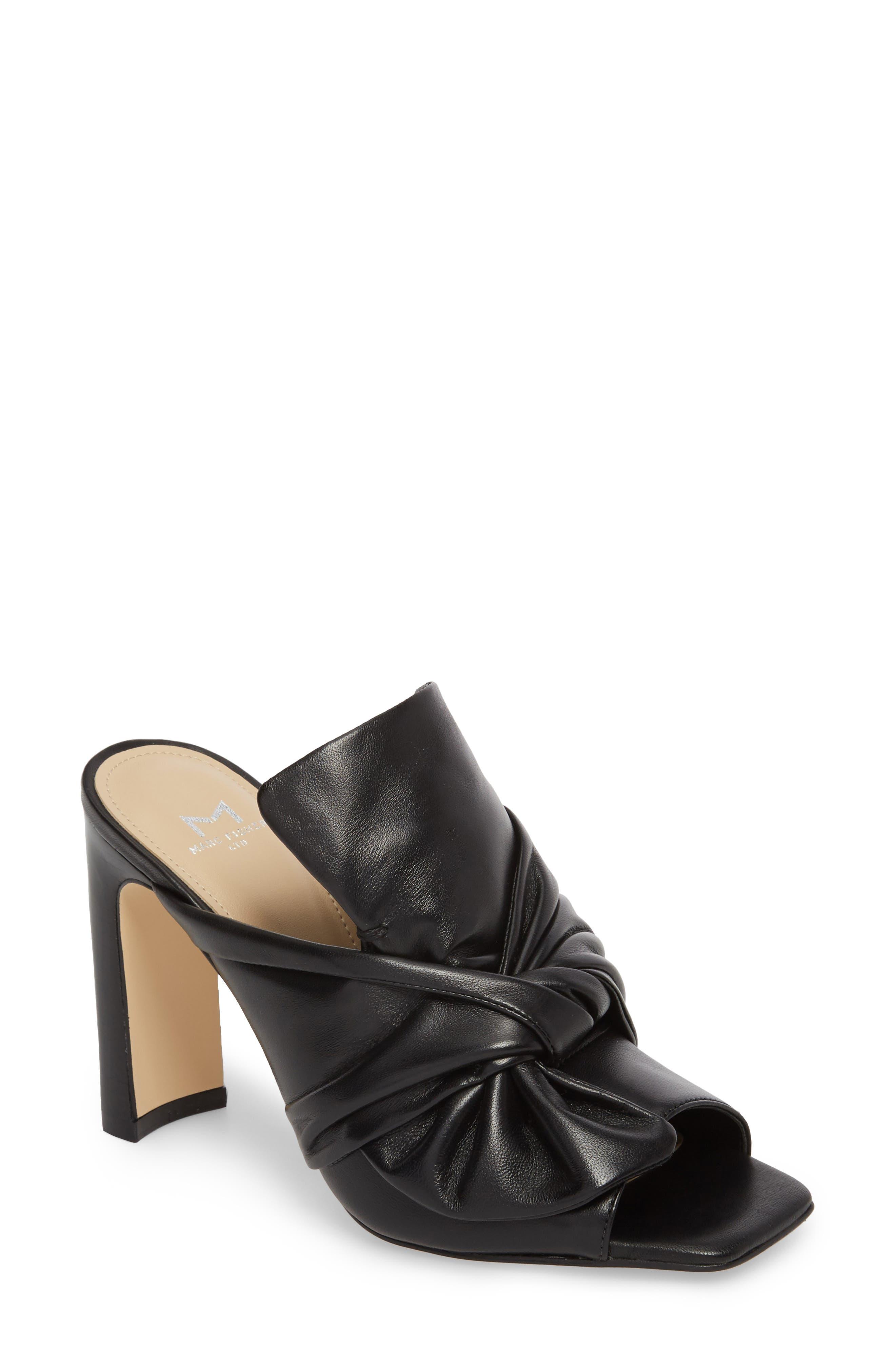 Hogan Sandal,                         Main,                         color, Black Leather