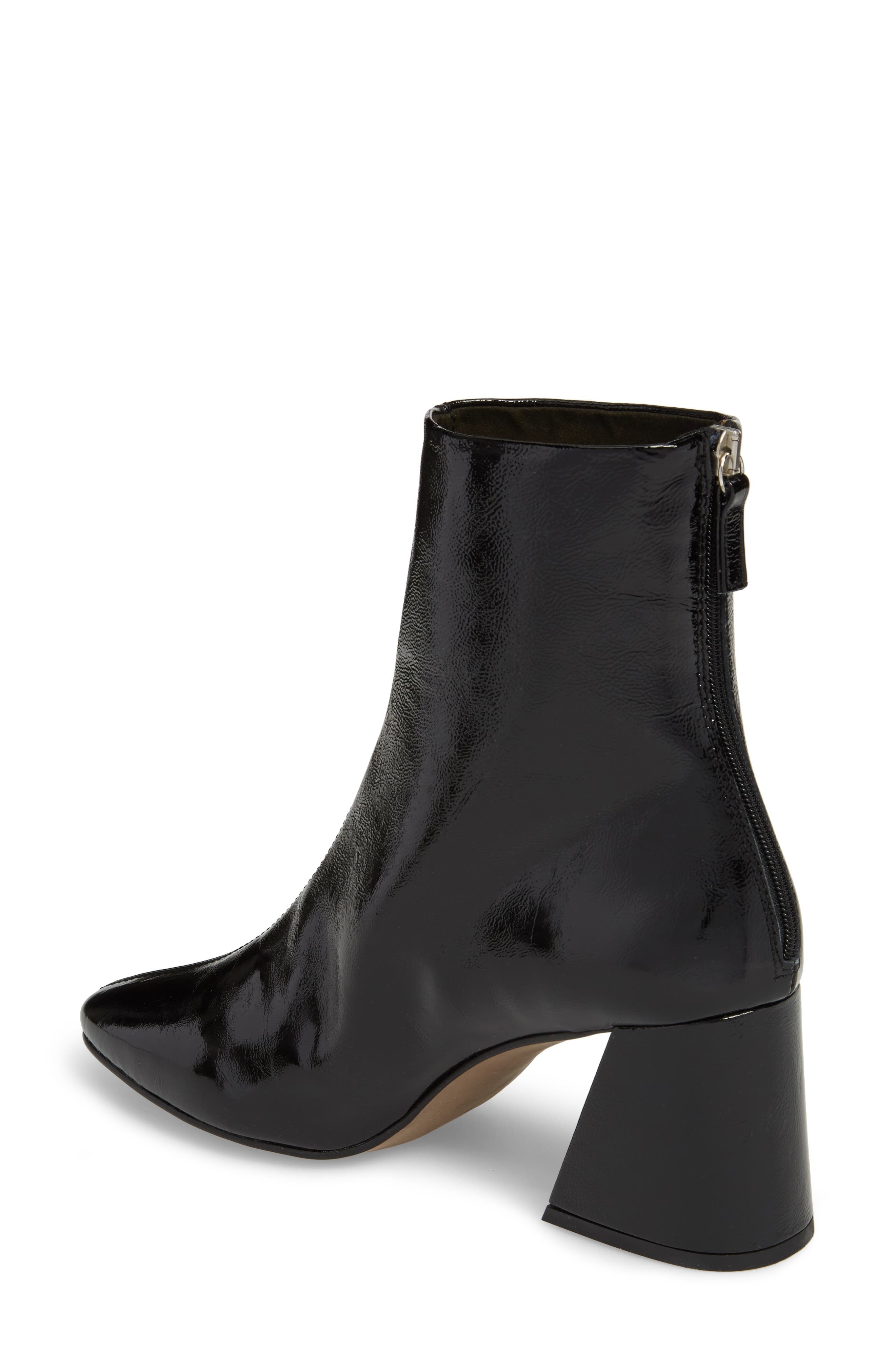 Mighty Flared Heel Bootie,                             Alternate thumbnail 2, color,                             Black