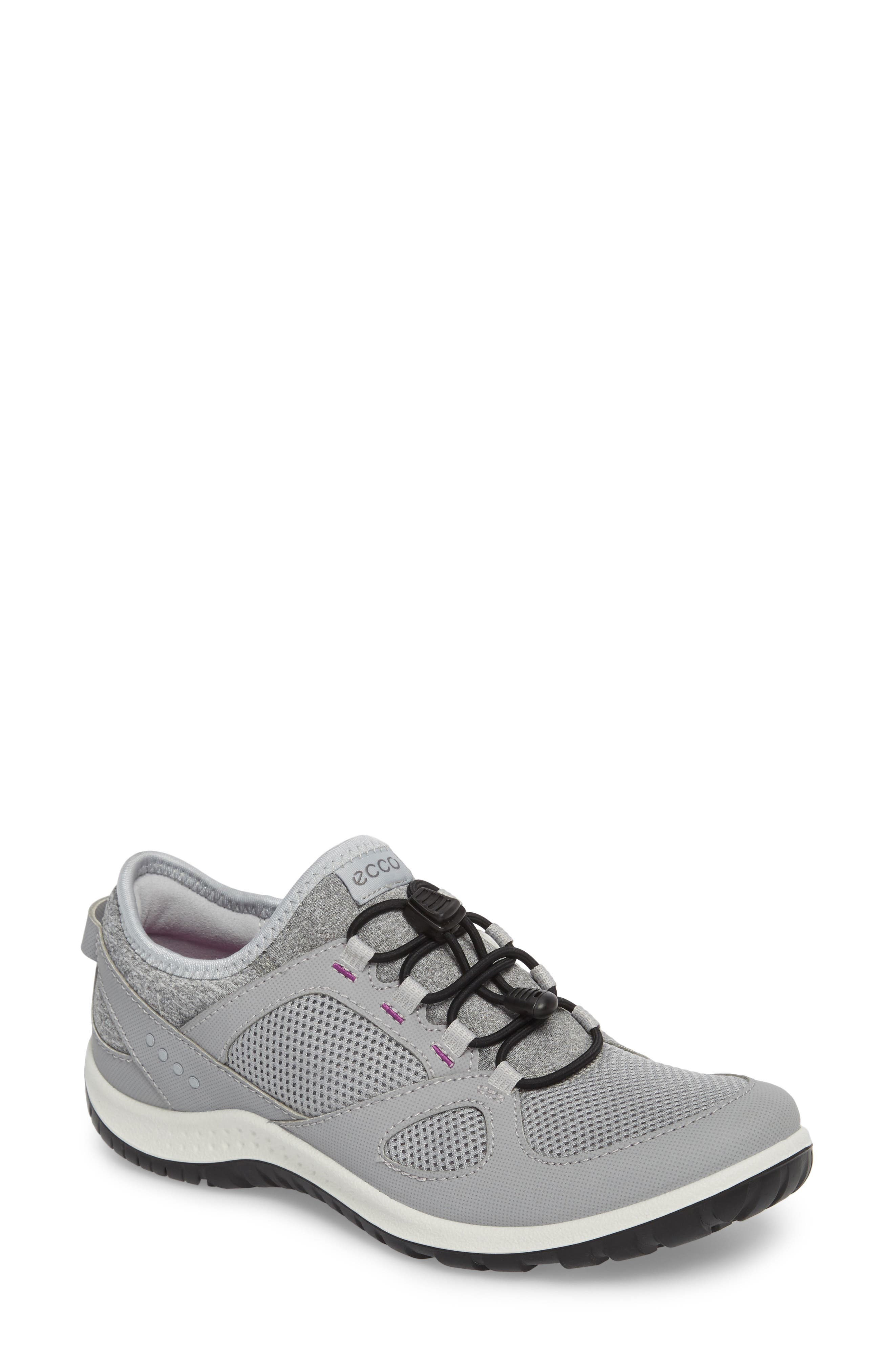 Aspina Toggle Hiking Sneaker,                         Main,                         color, Silver Grey Leather