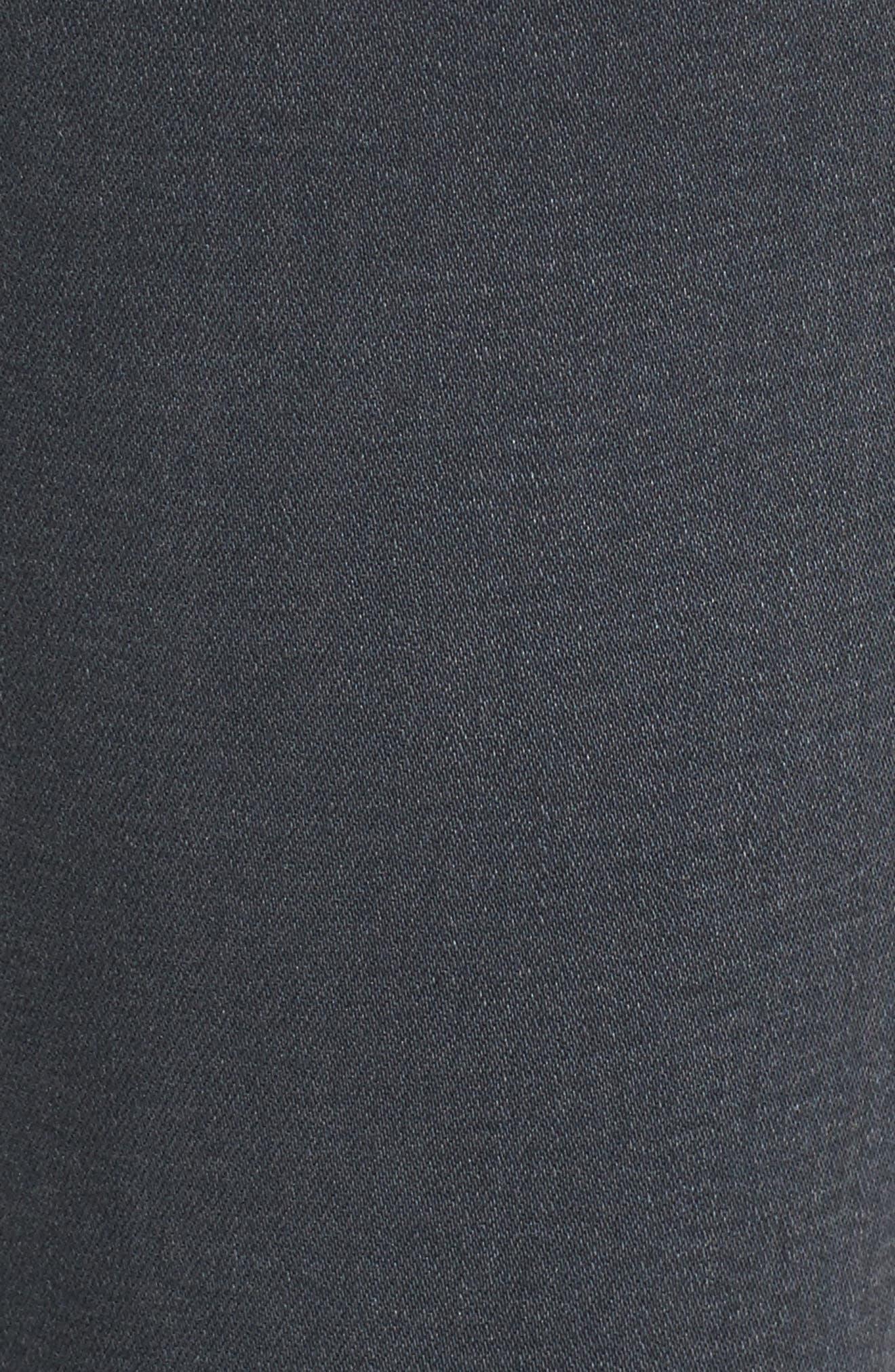 Ankle 'The Legging' Super Skinny Jeans,                             Alternate thumbnail 6, color,                             Raven Plume