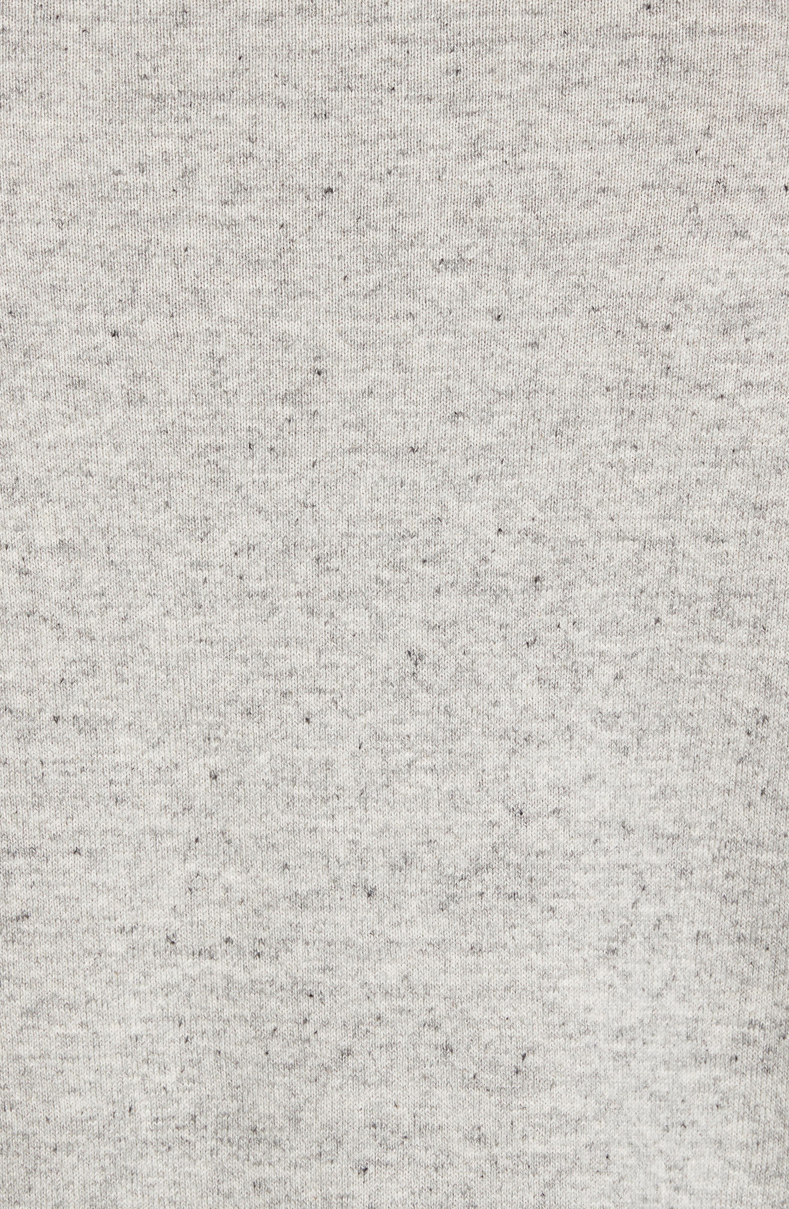 Arbors Cotton V-Neck Sweater,                             Alternate thumbnail 5, color,                             Oatmeal