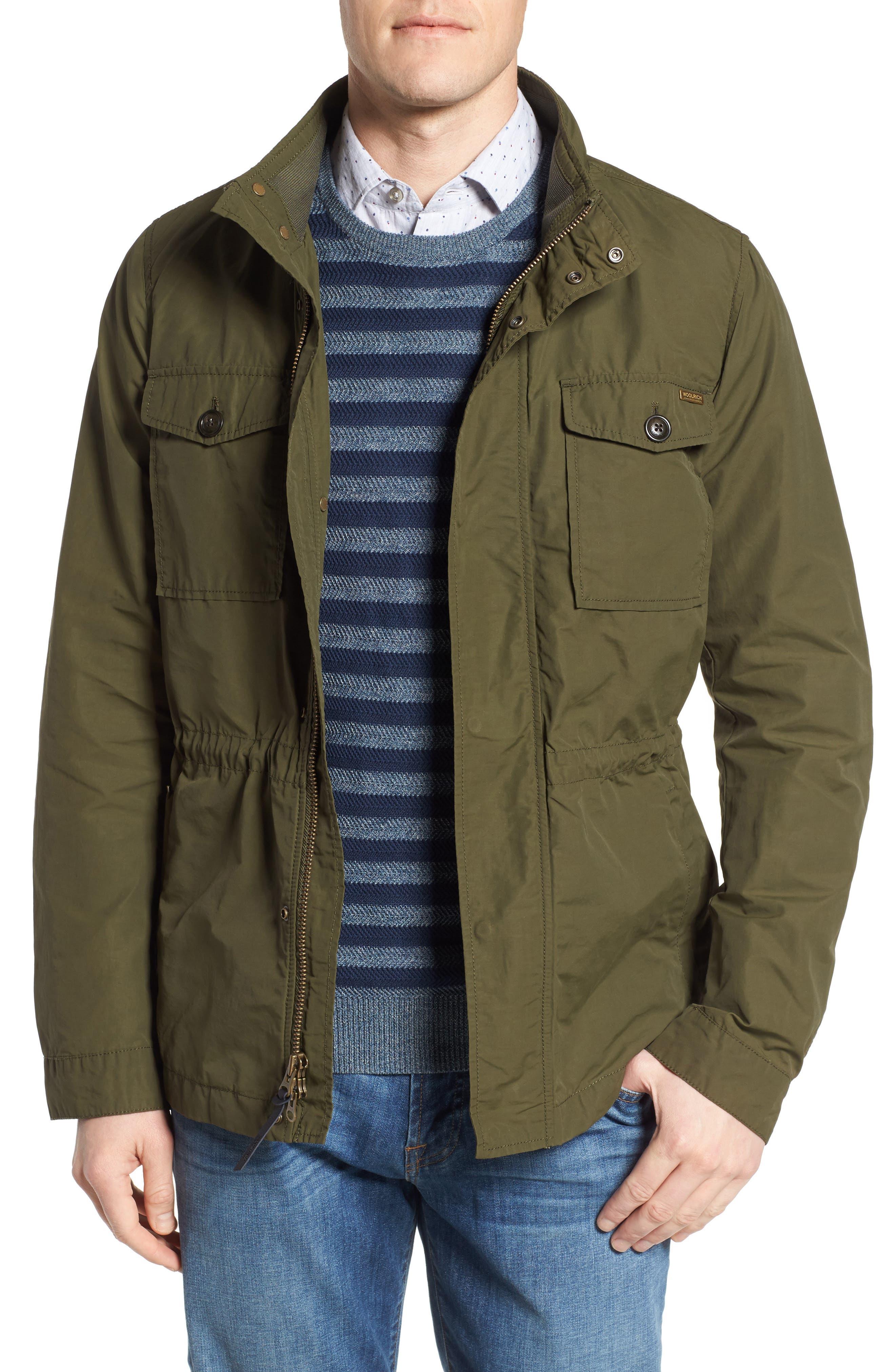 Military Field Jacket,                         Main,                         color, Dark Olivedko