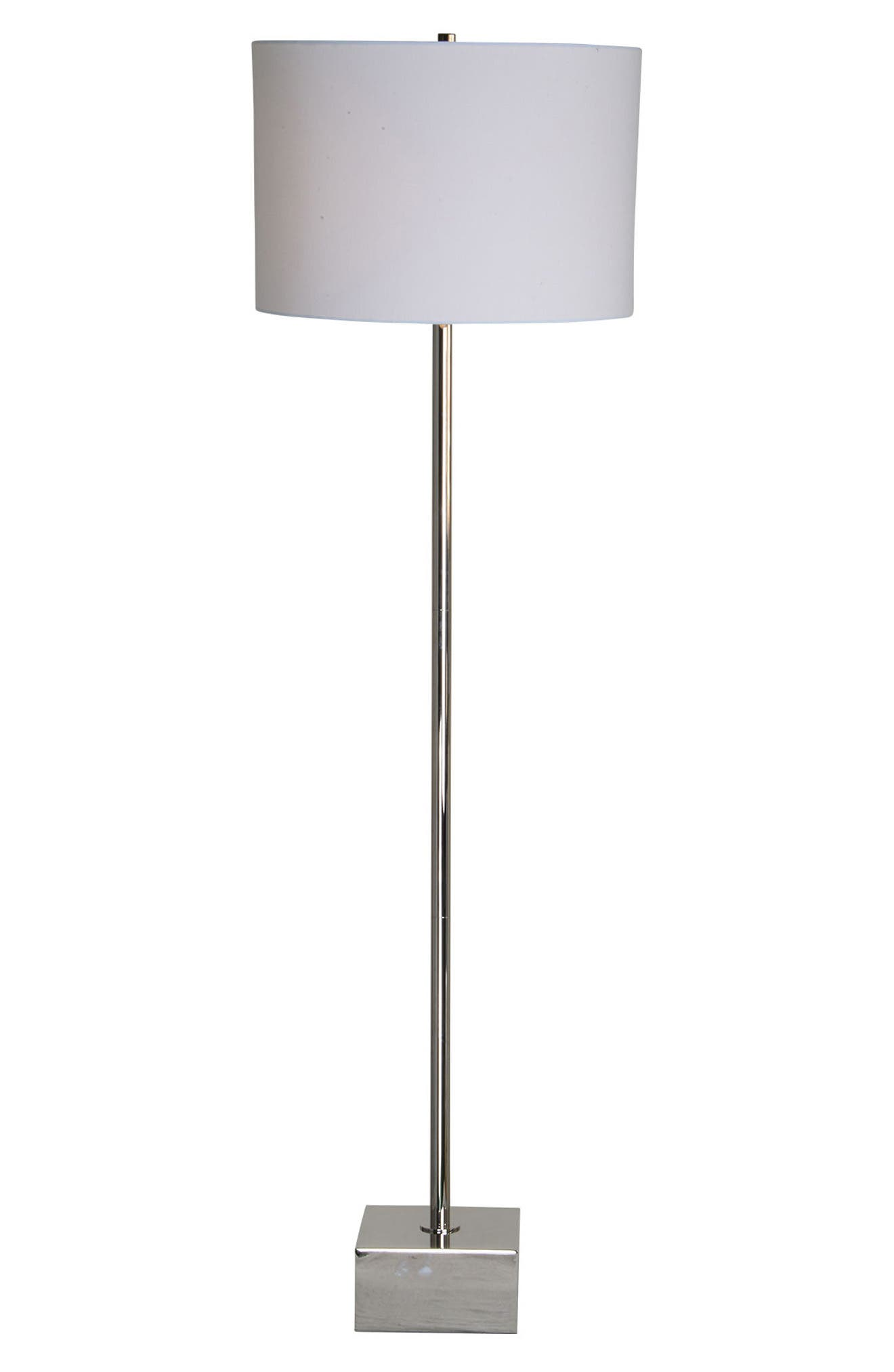 Renwil Thalia Chrome Floor Lamp