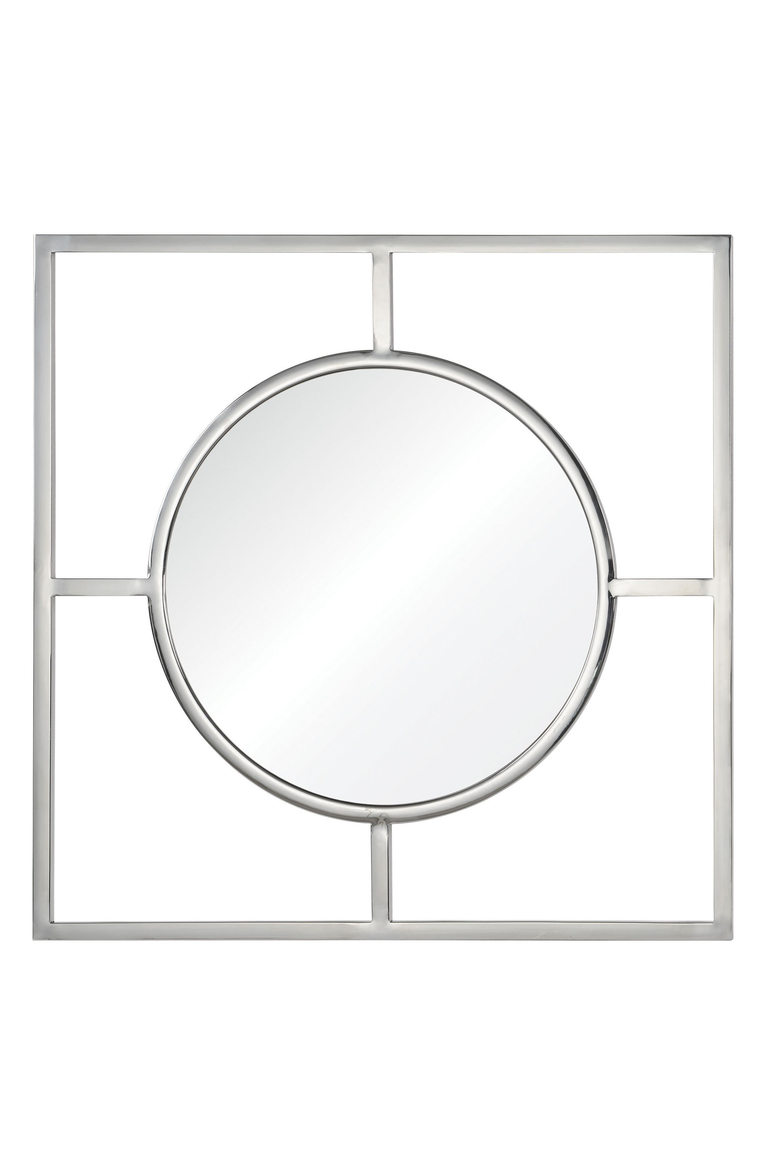 Severn Mirror,                             Main thumbnail 1, color,                             Chrome