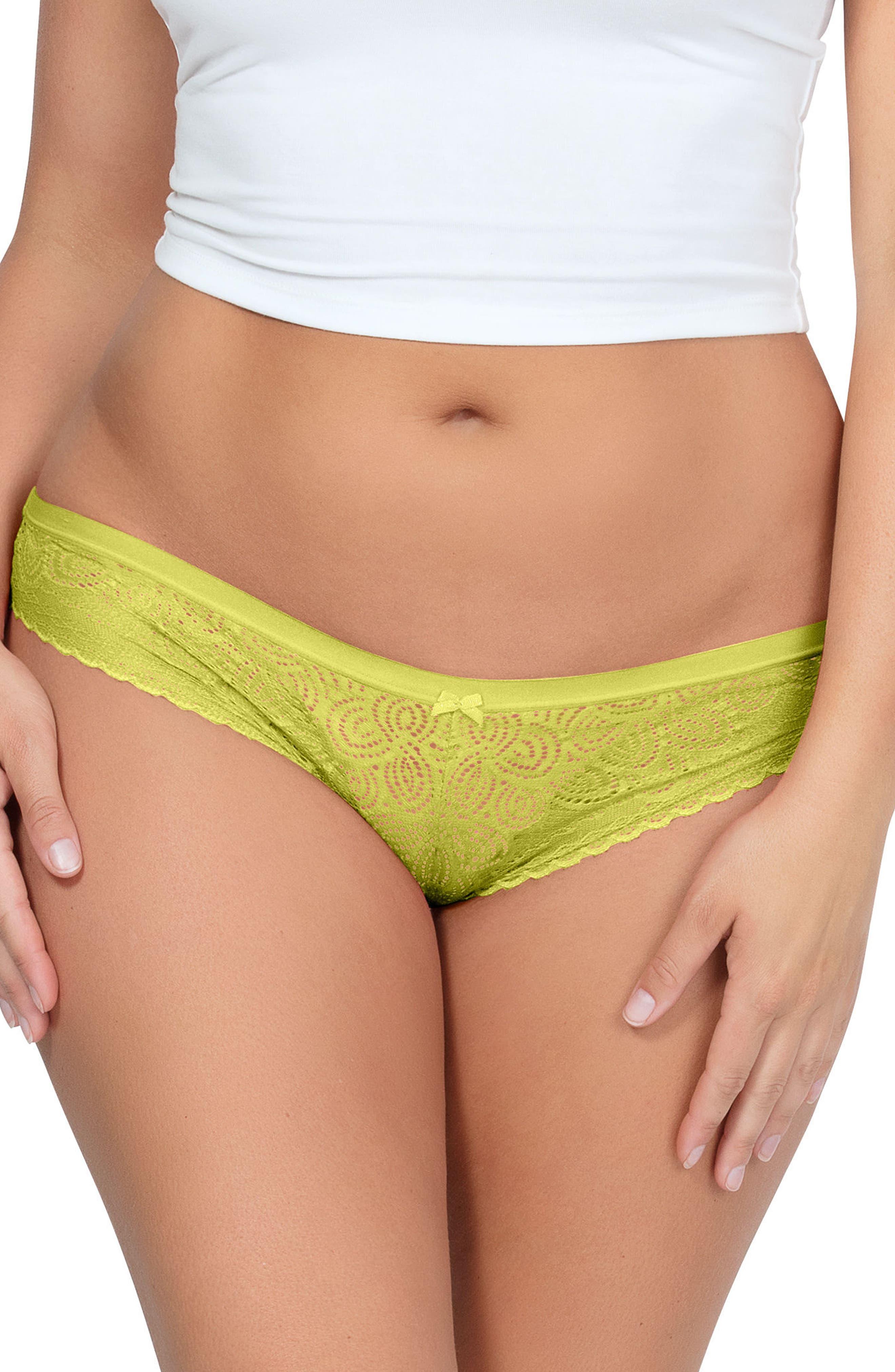 So Glam Bikini,                             Main thumbnail 1, color,                             Lemonade