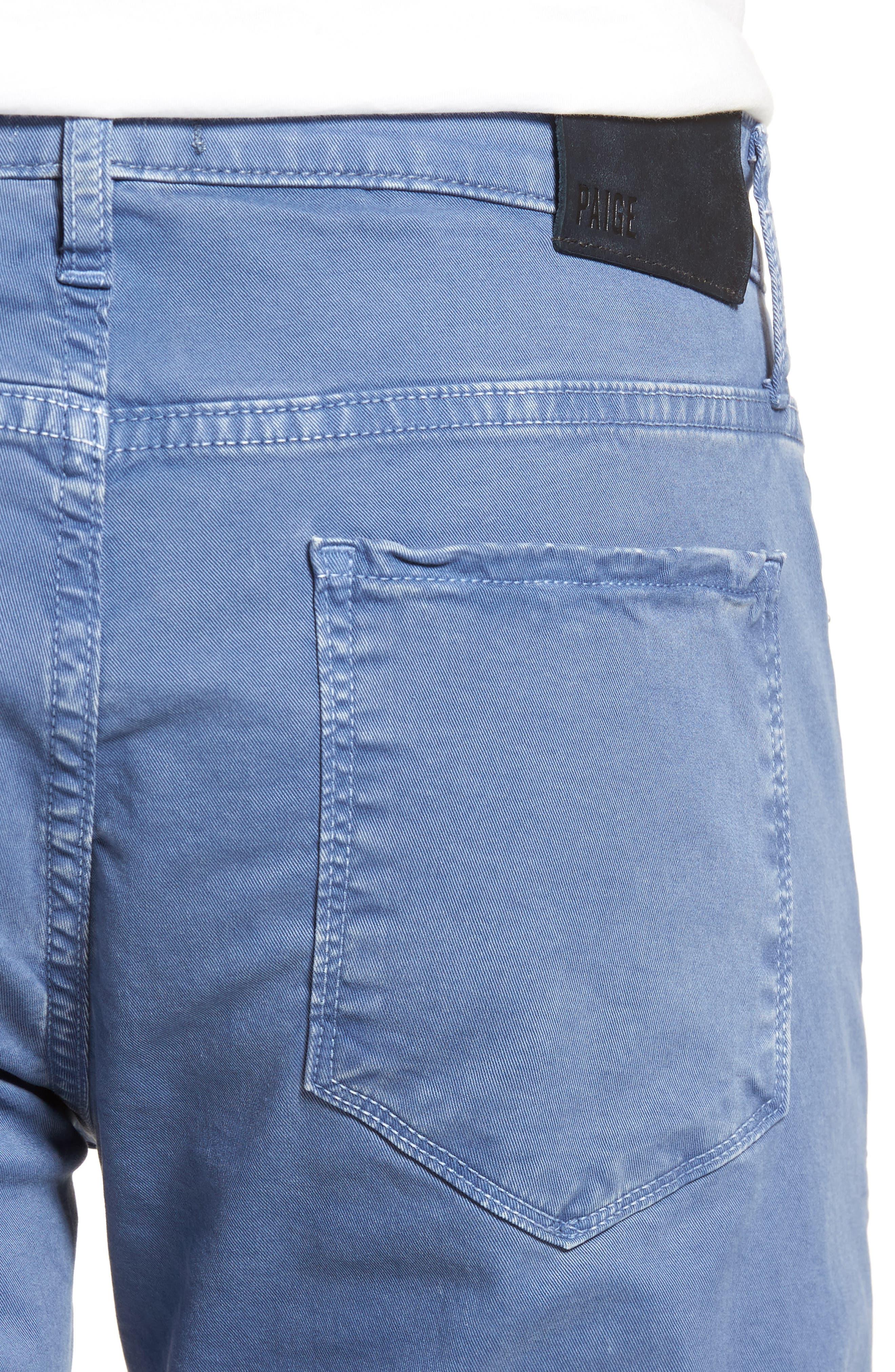 Lennox Slim Fit Five-Pocket Pants,                             Alternate thumbnail 4, color,                             Vintage Mariner