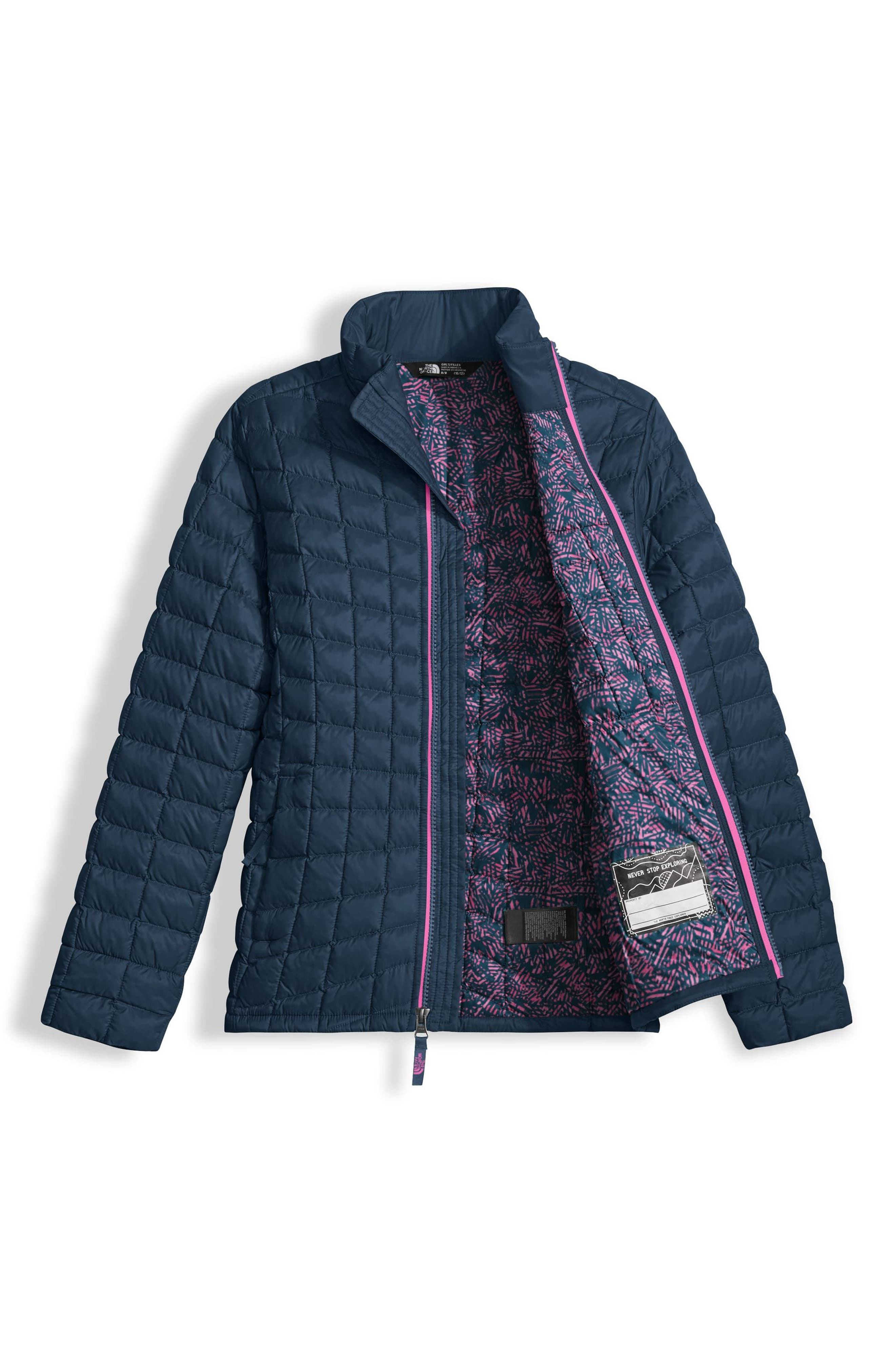 Alternate Image 3  - The North Face ThermoBall™ PrimaLoft® Quilted Jacket (Big Girls)