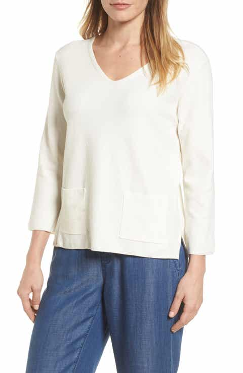 NIC+ZOE V-Neck Pocket Top