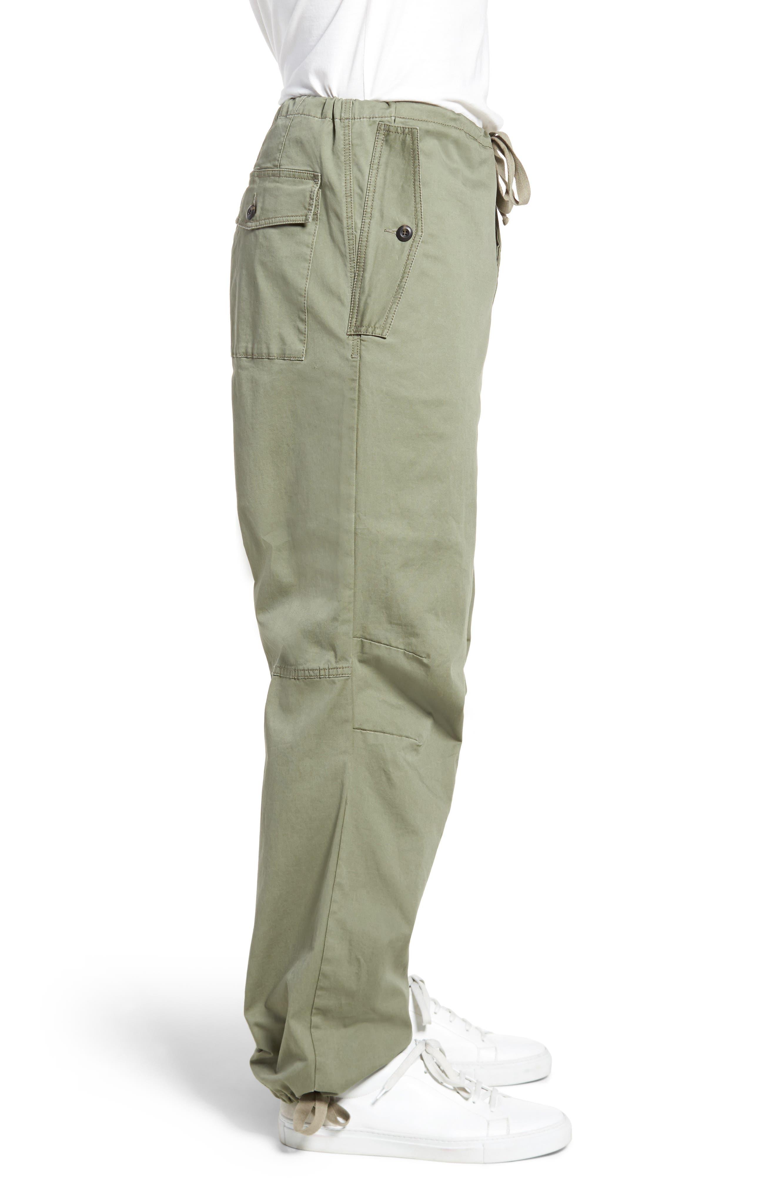 Military Broken Twill Pants,                             Alternate thumbnail 3, color,                             Deep Lichen Green