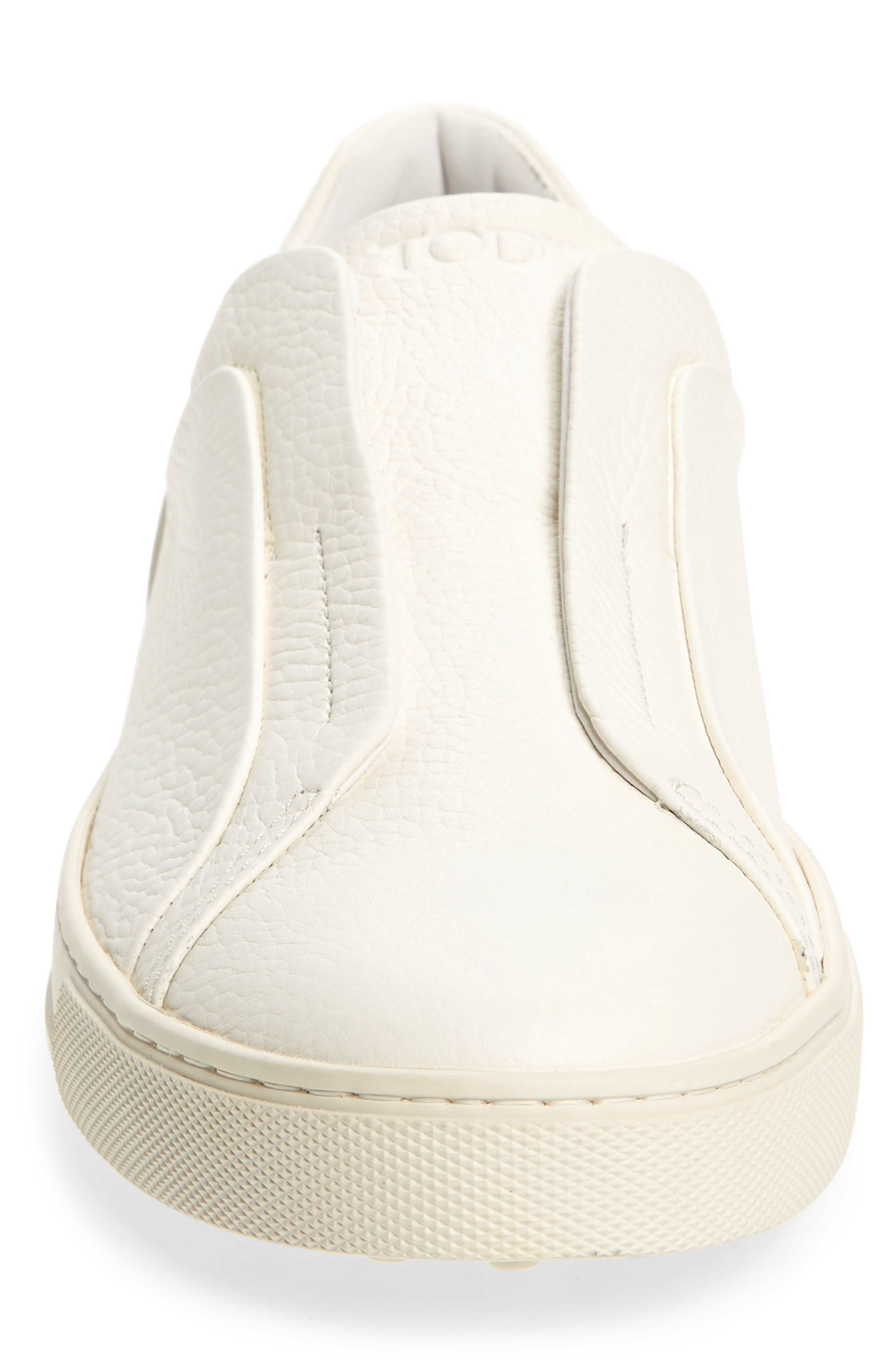 Cassetta Slip-on Sneaker,                             Alternate thumbnail 4, color,                             White