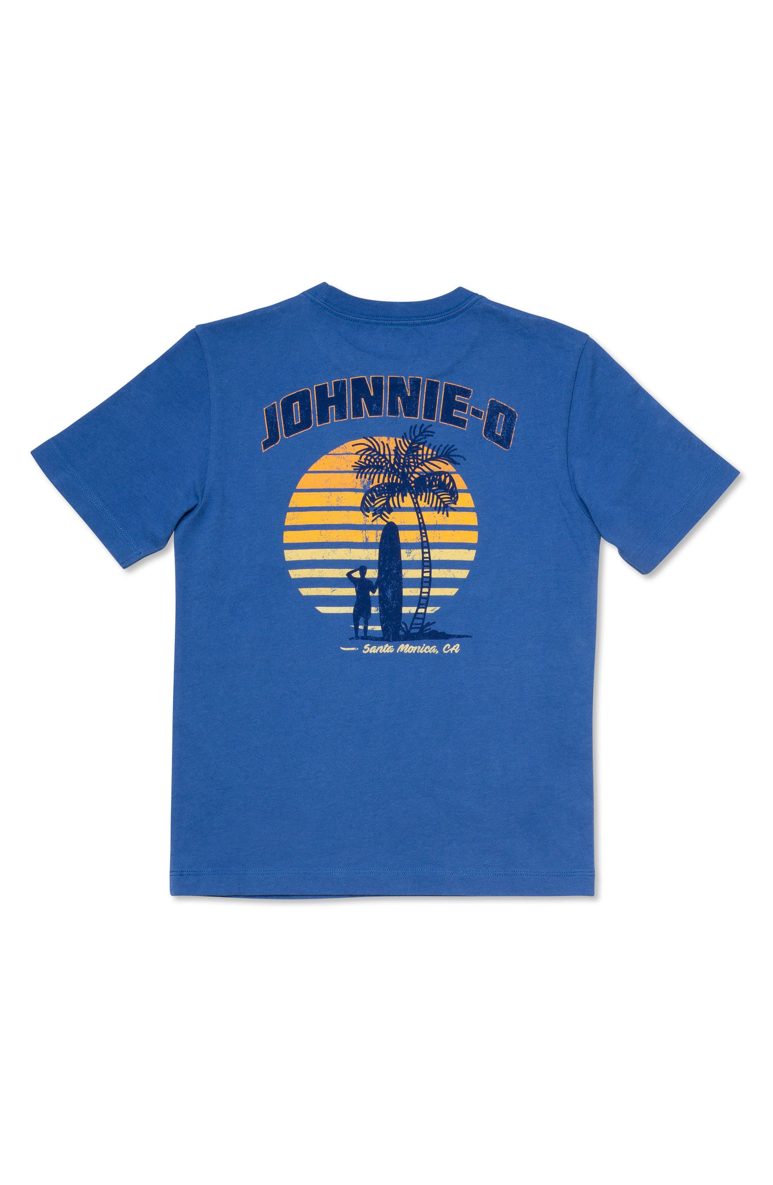 Heatwave Graphic Pocket T-Shirt,                             Alternate thumbnail 2, color,                             Laguna Blue