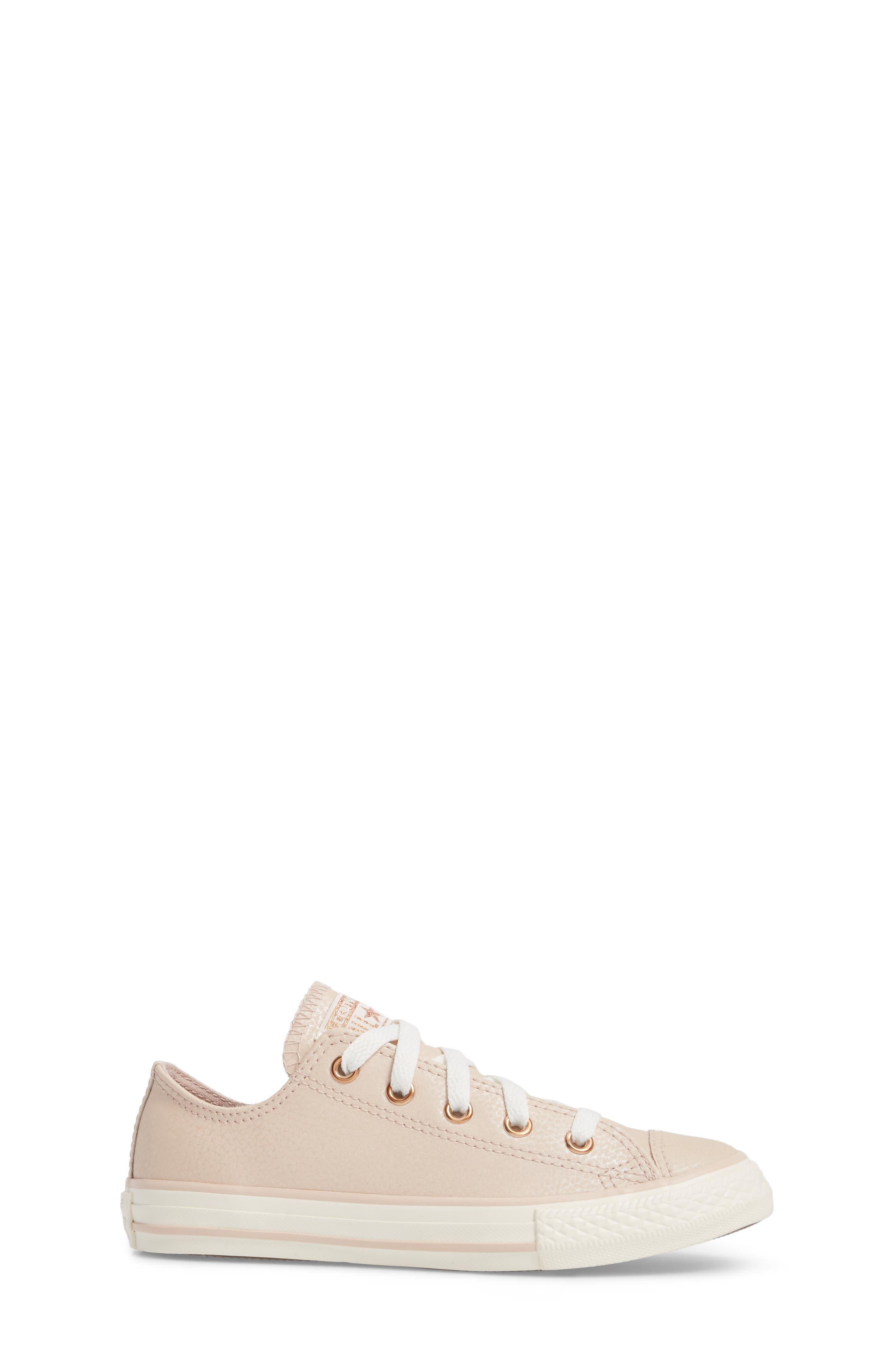 Alternate Image 3  - Converse All Star® Fashion Low Top Sneaker (Toddler, Little Kid & Big Kid)