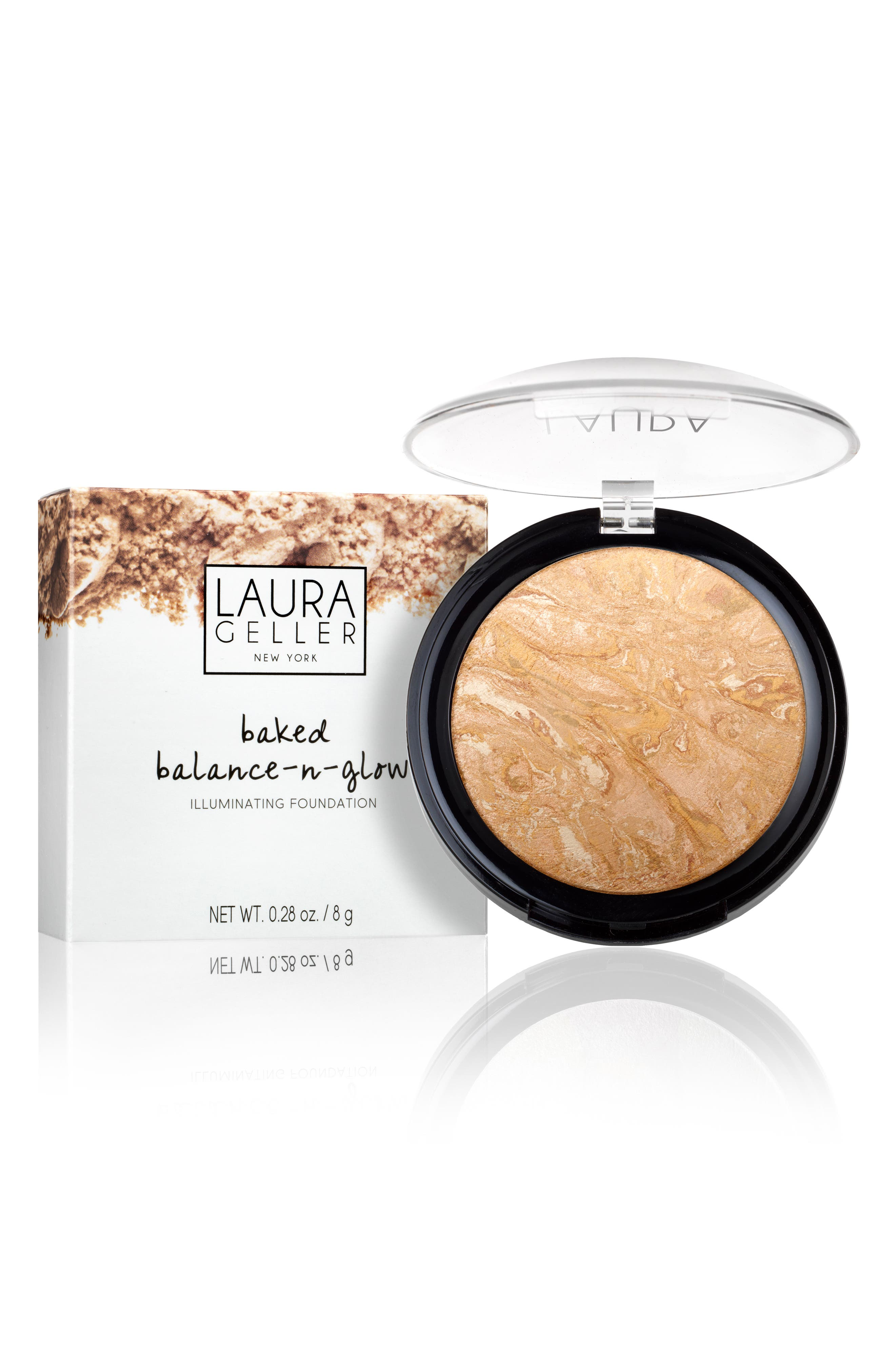 Alternate Image 2  - Laura Geller Beauty Baked Balance-n-Glow Illuminating Foundation