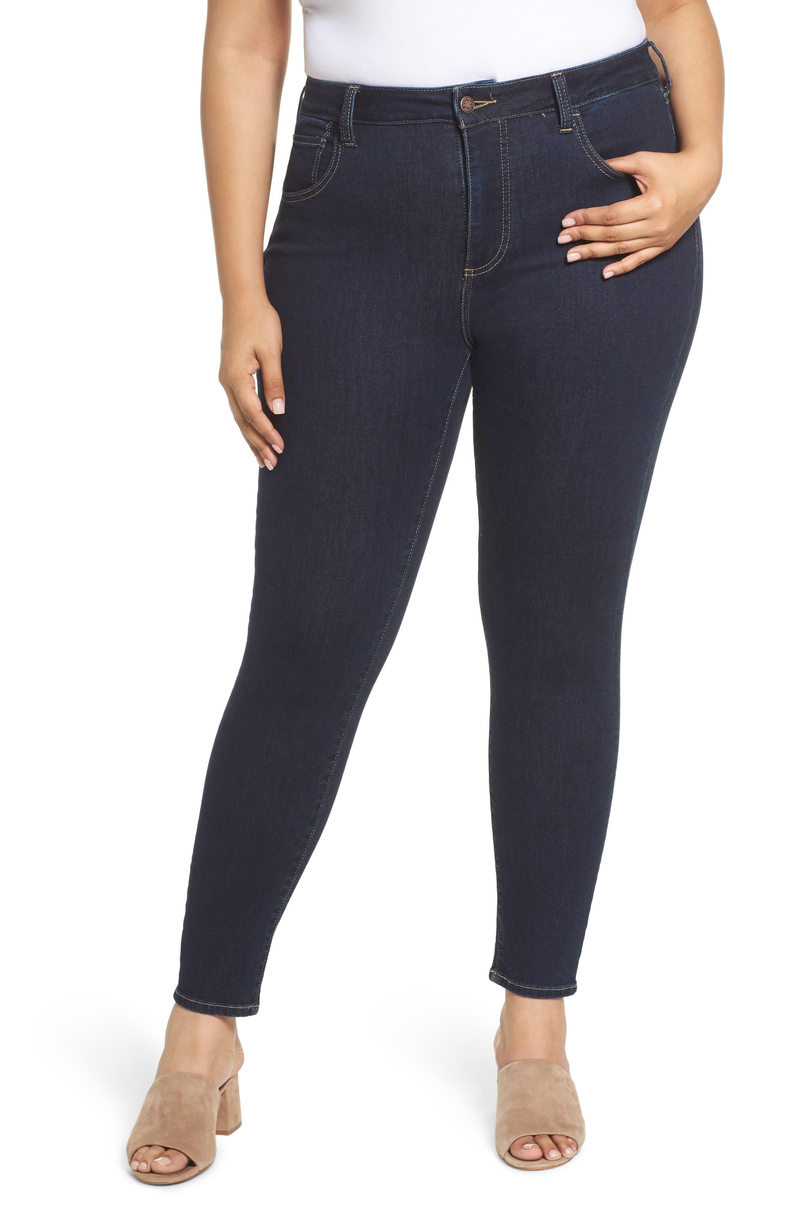 Main Image - Lucky Brand Emma Legging Jeans (Breaker) (Plus Size)