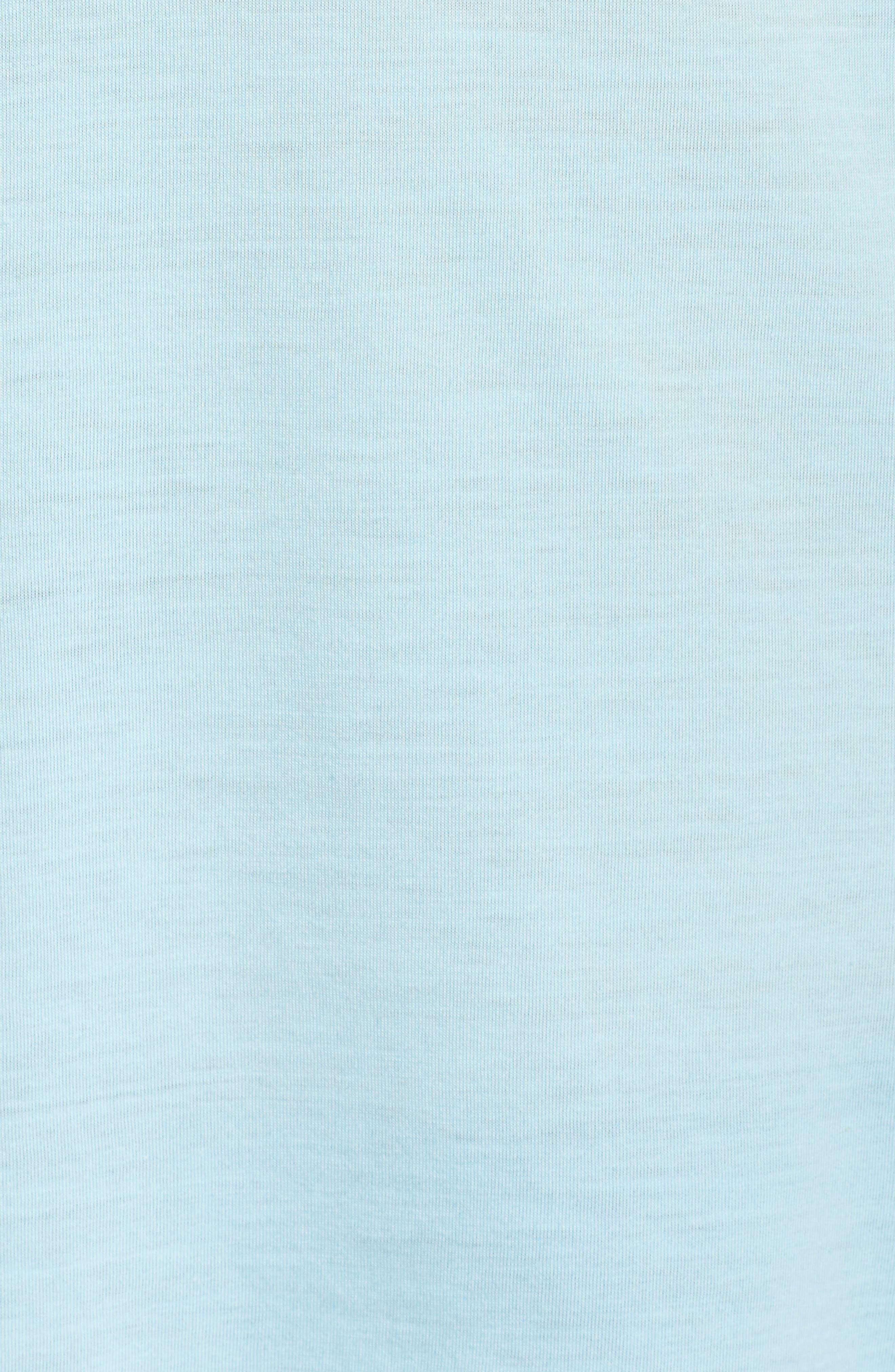 Distance Short Sleeve Tee,                             Alternate thumbnail 6, color,                             Pool/ Ocean Run Happy Smile