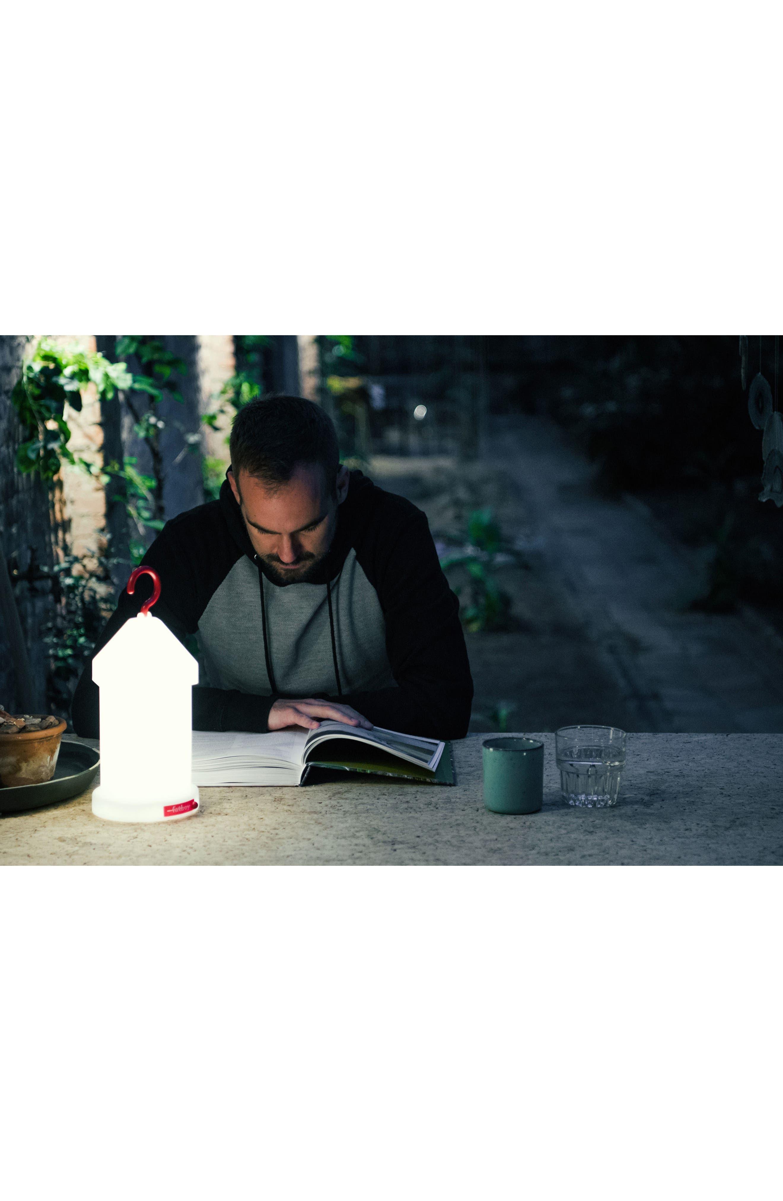 Lampie-On Wireless Lantern,                             Alternate thumbnail 2, color,                             White
