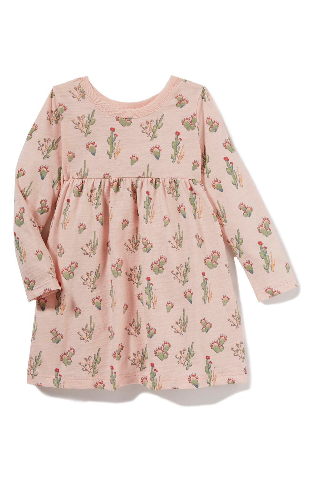 Peek Cactus Print Dress (Baby Girls)