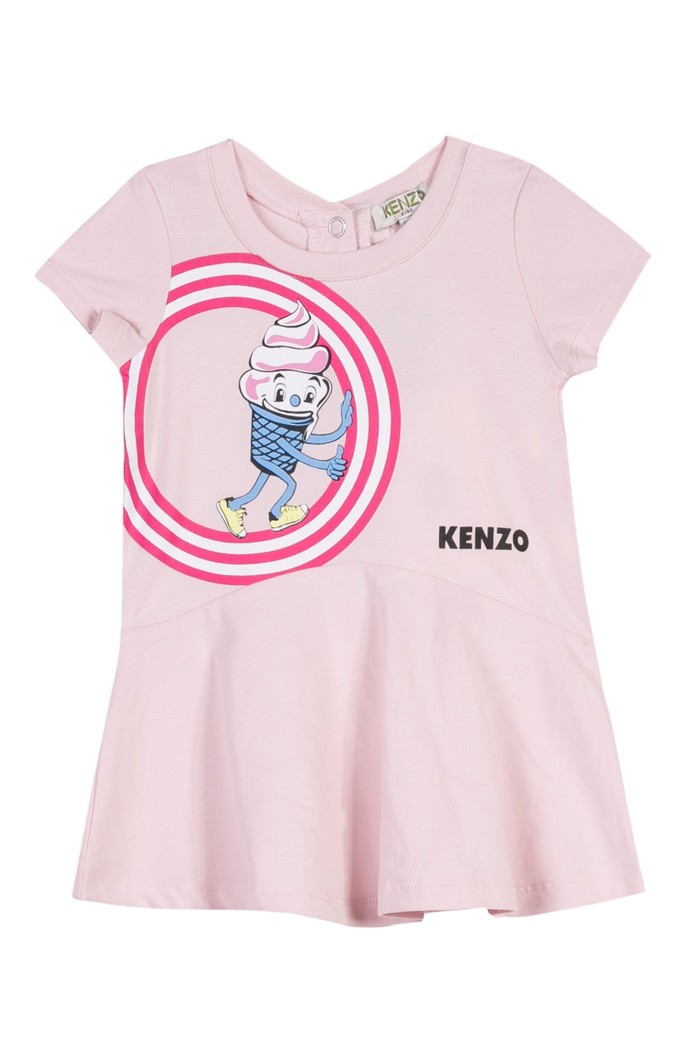 KENZO Ice Cream Cone Dress (Baby Girls)