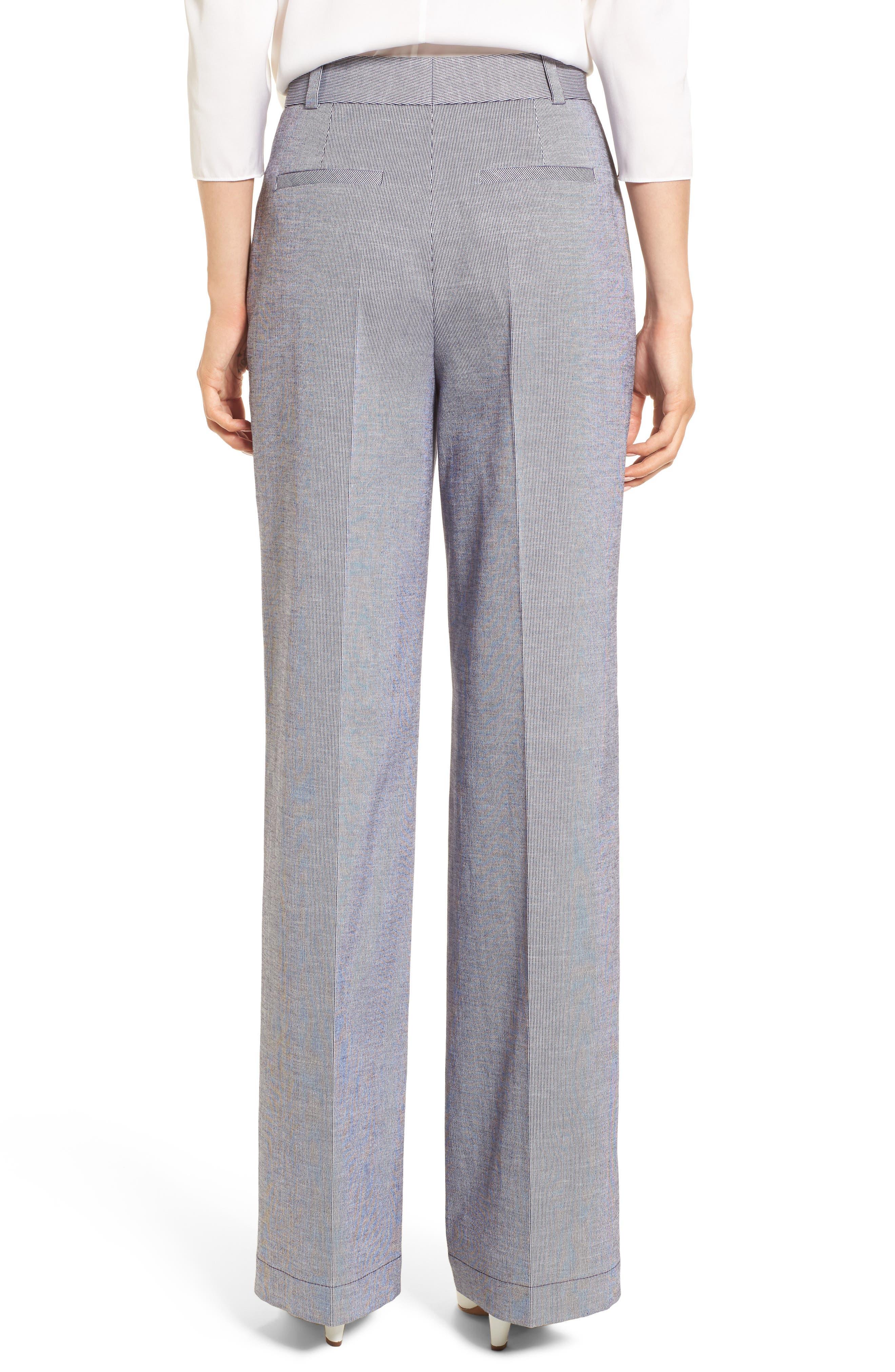 Alternate Image 2  - Lewit Ticking Stripe Pants