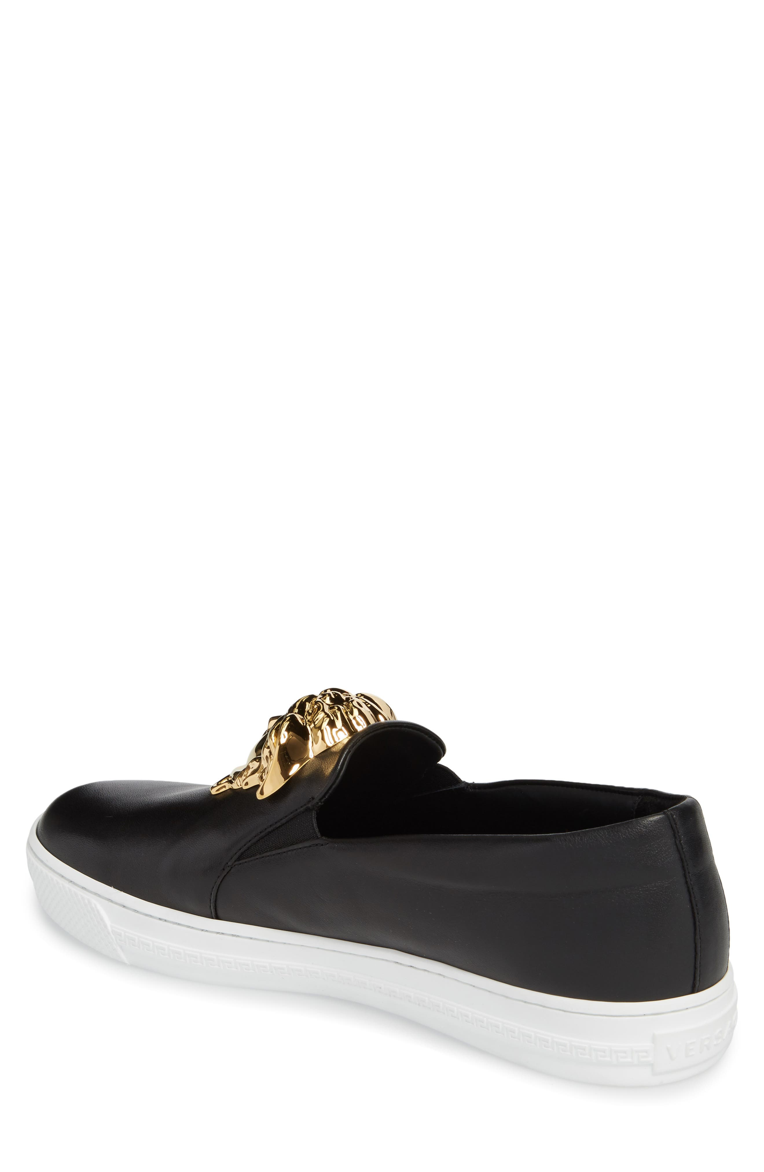 Alternate Image 2  - Versace First Line Iconic Palazzo Slip-On (Men)