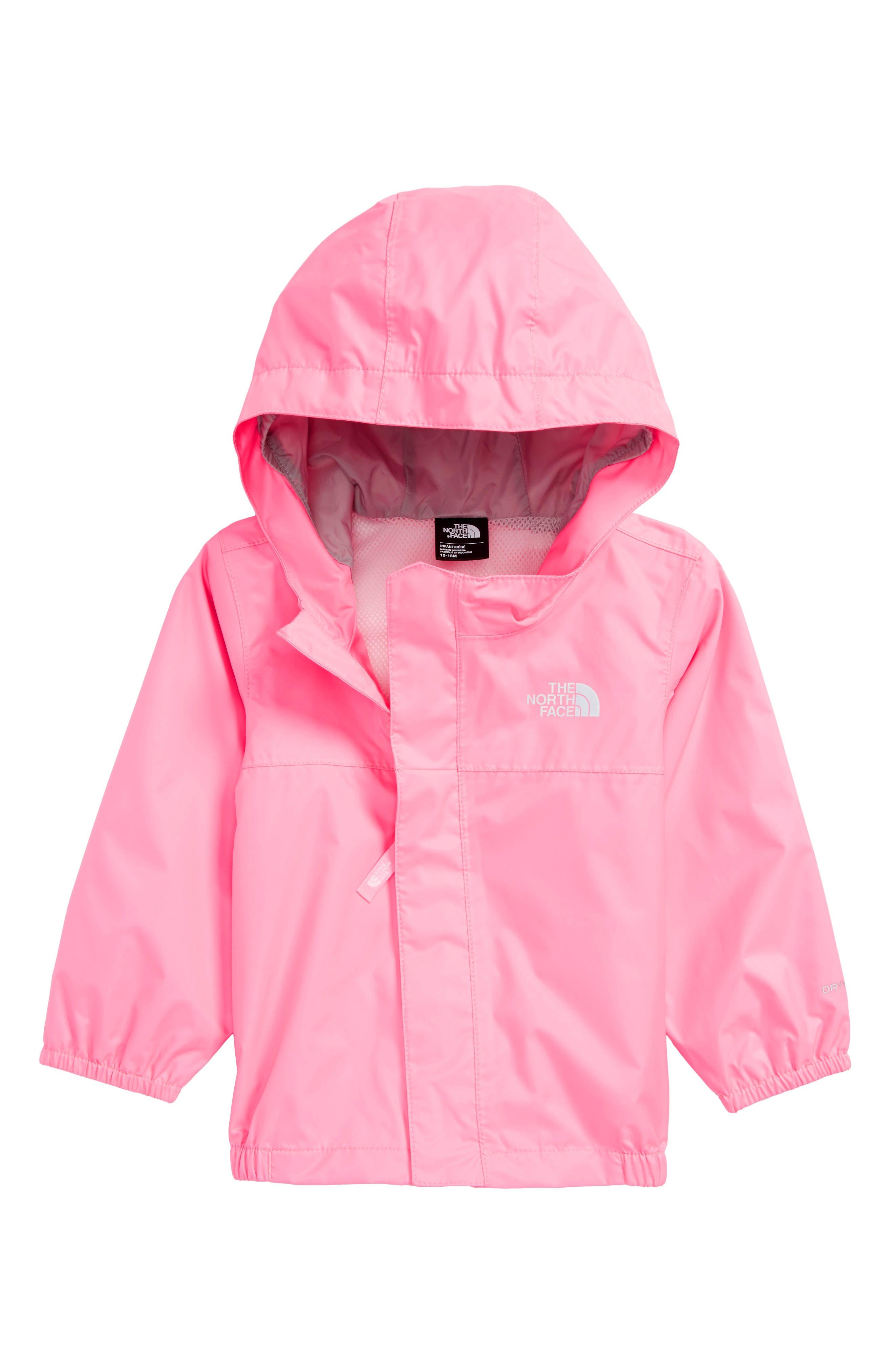Tailout Hooded Rain Jacket,                             Main thumbnail 1, color,                             Gem Pink