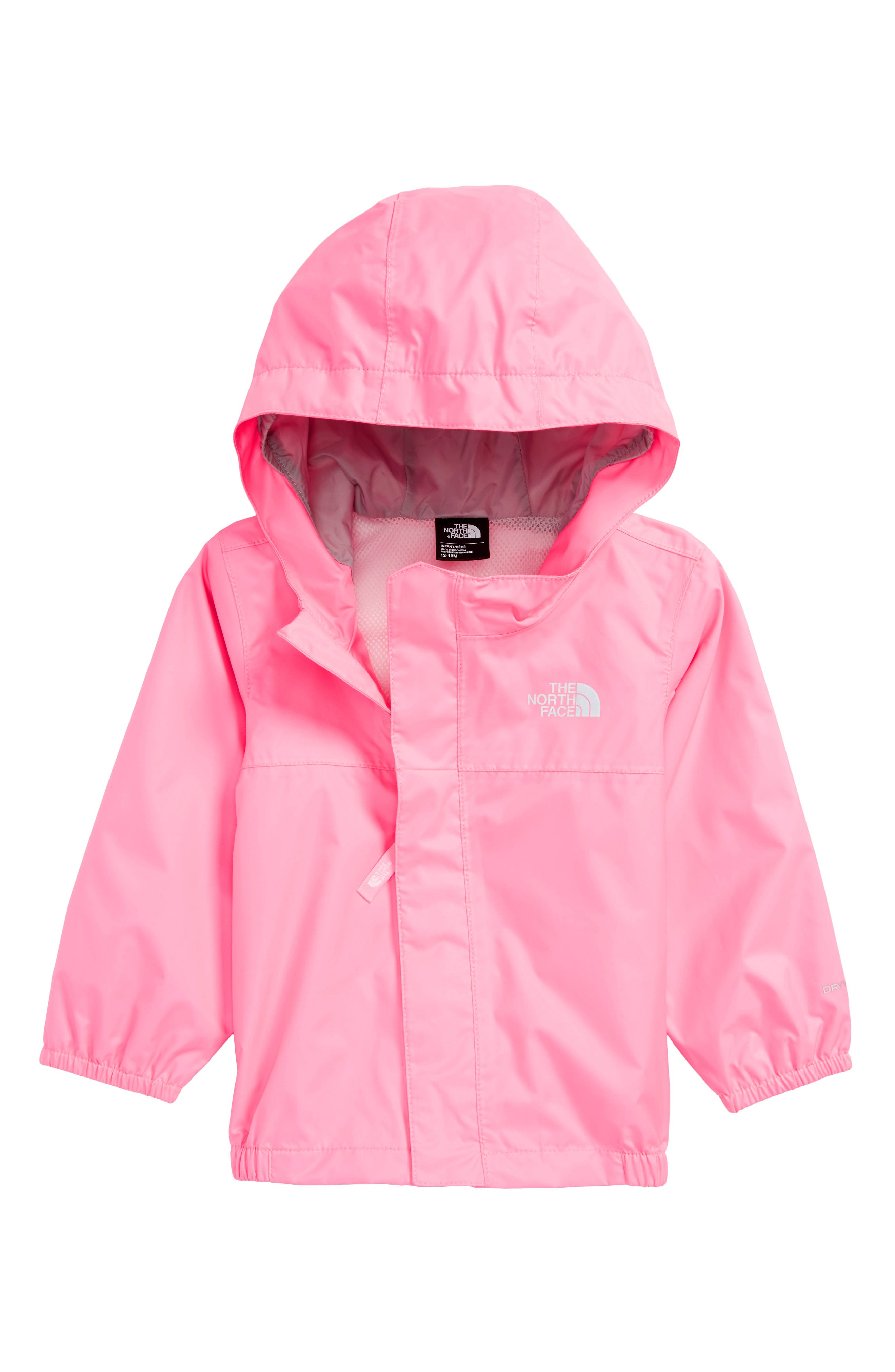 Tailout Hooded Rain Jacket,                         Main,                         color, Gem Pink