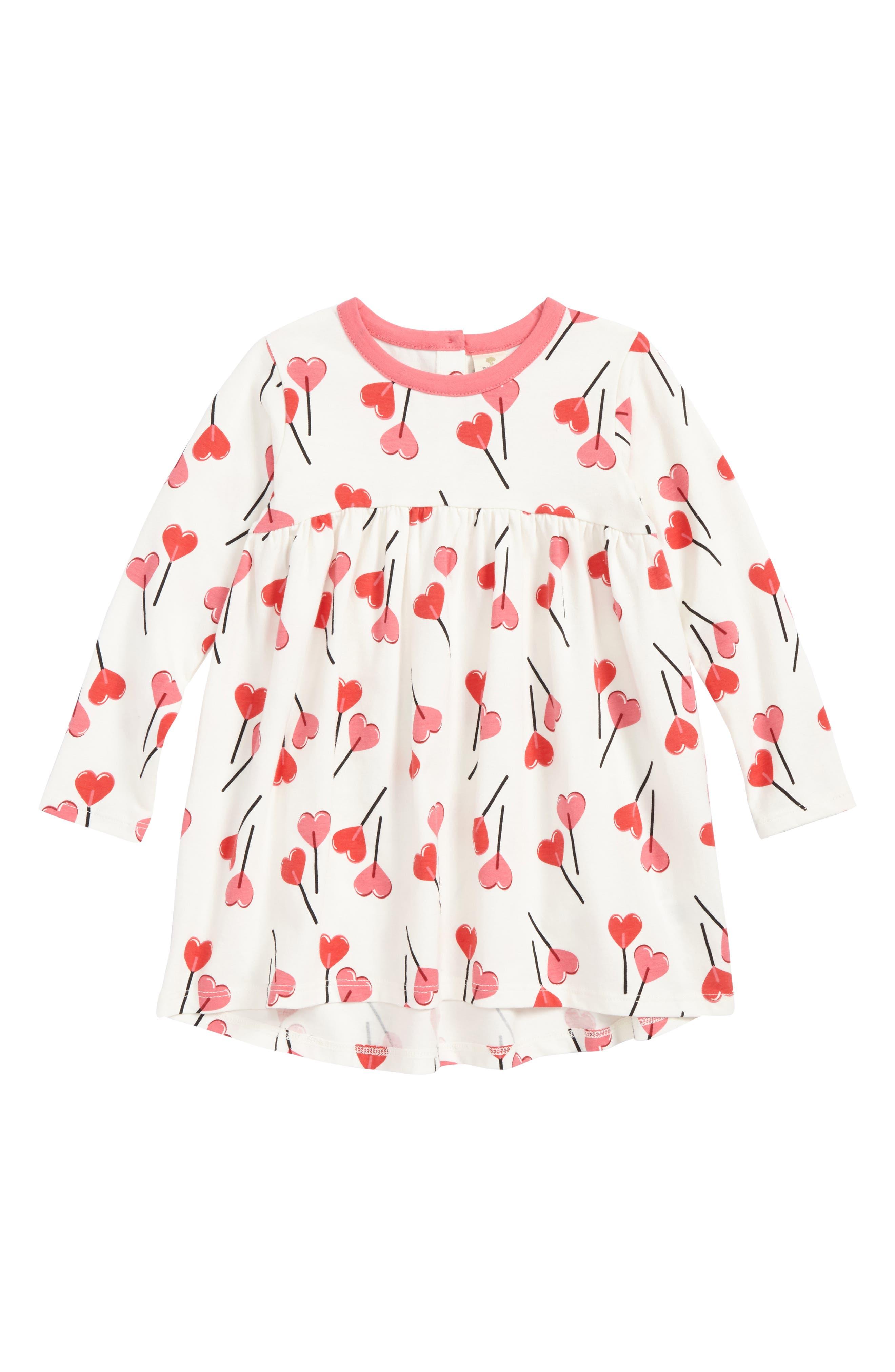 High/Low Dress,                         Main,                         color, Ivory Egret Be Mine