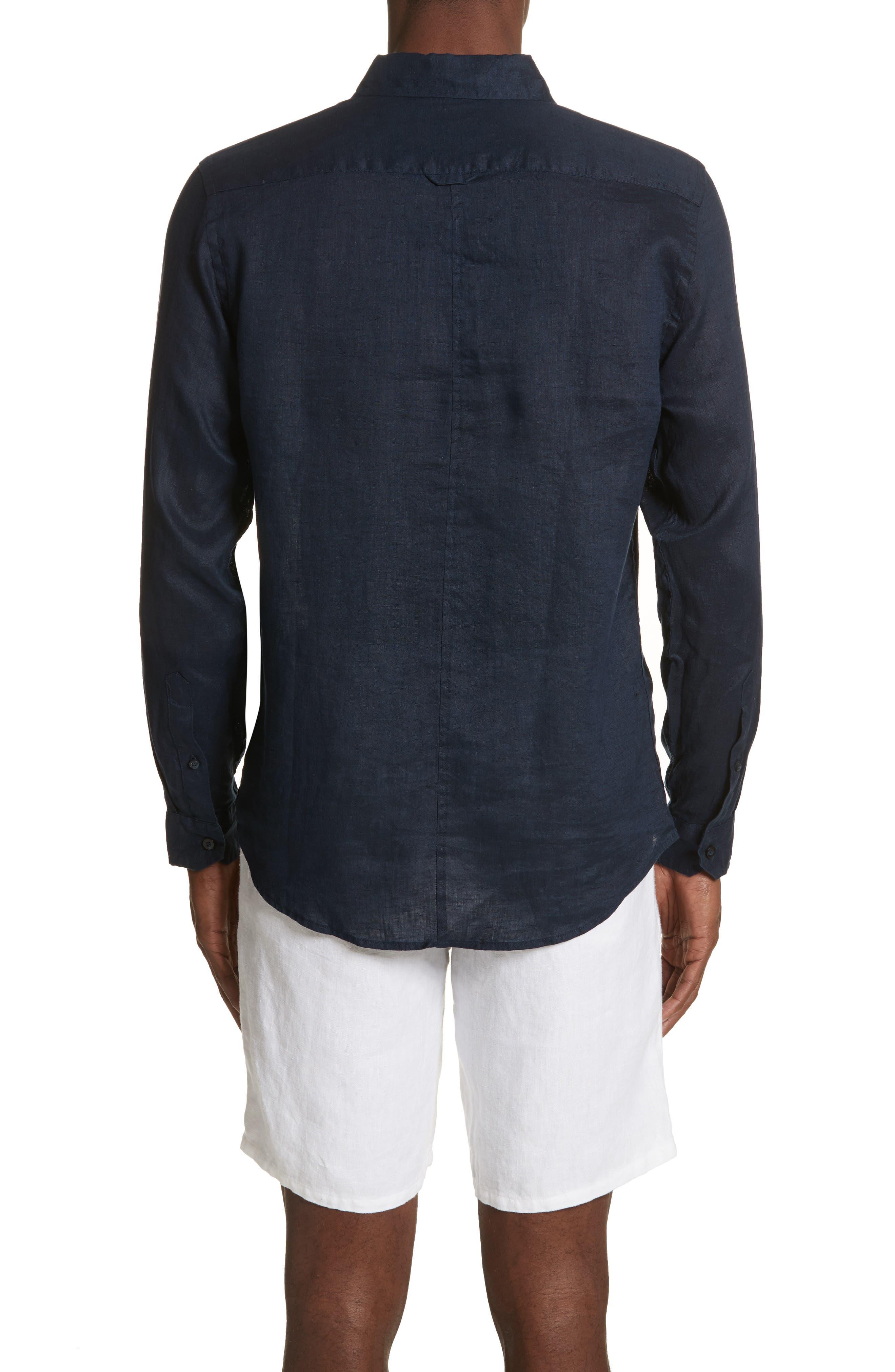 Alternate Image 2  - ONIA Abe Linen Shirt