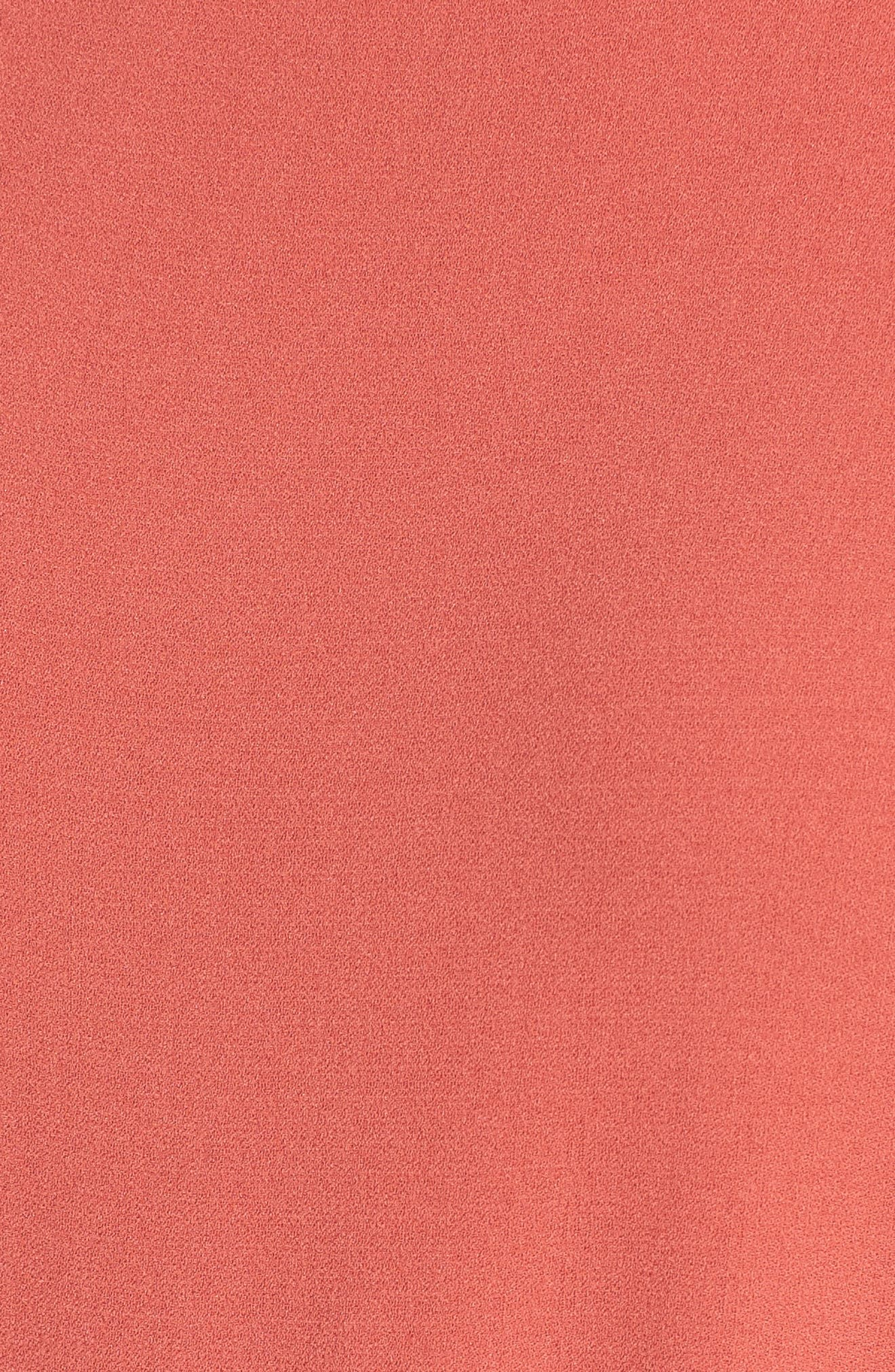 Alternate Image 5  - Eileen Fisher Bateau Neck Silk Dress
