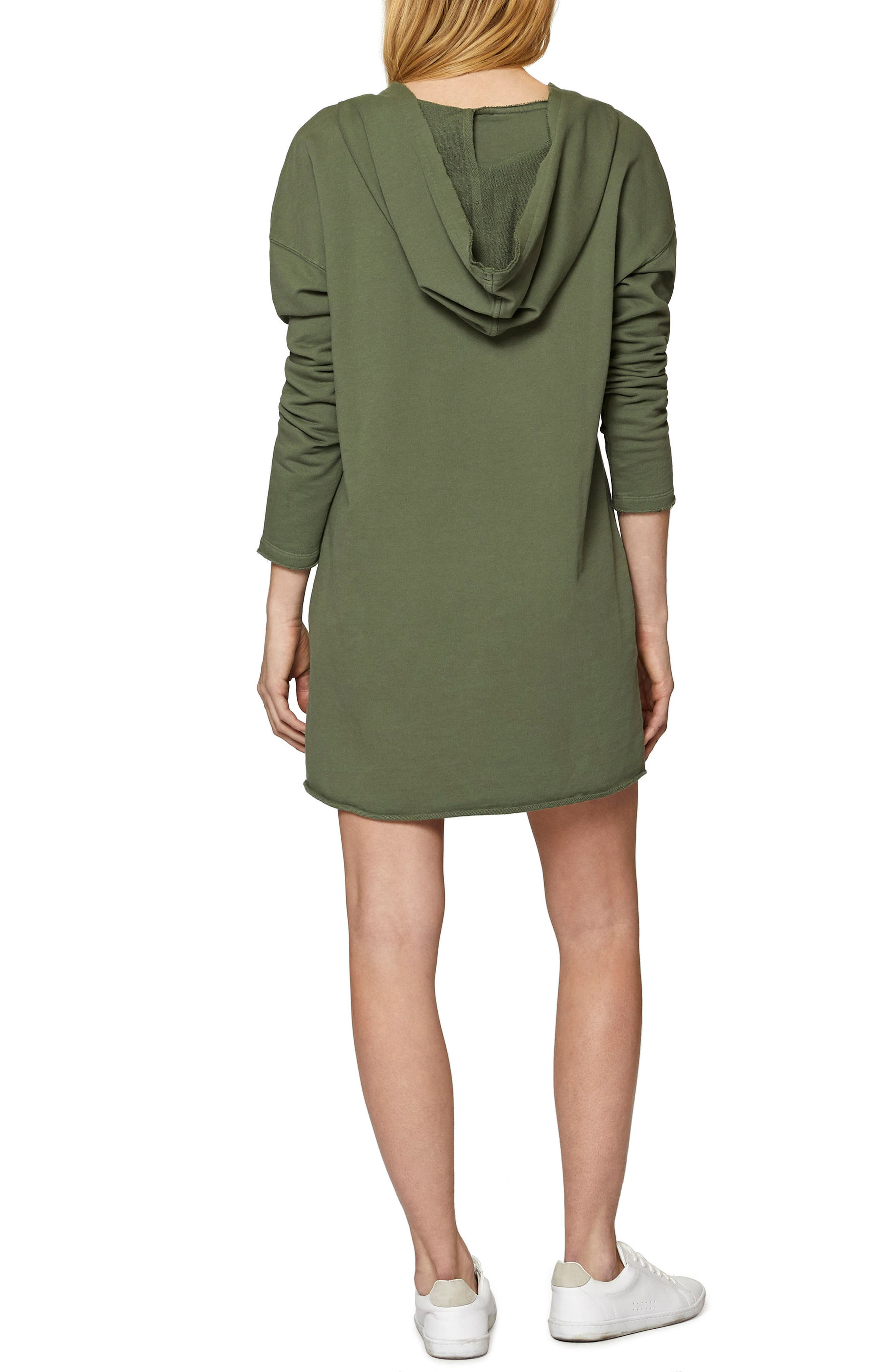 Lower East Hoodie Tunic,                             Alternate thumbnail 2, color,                             Cadet