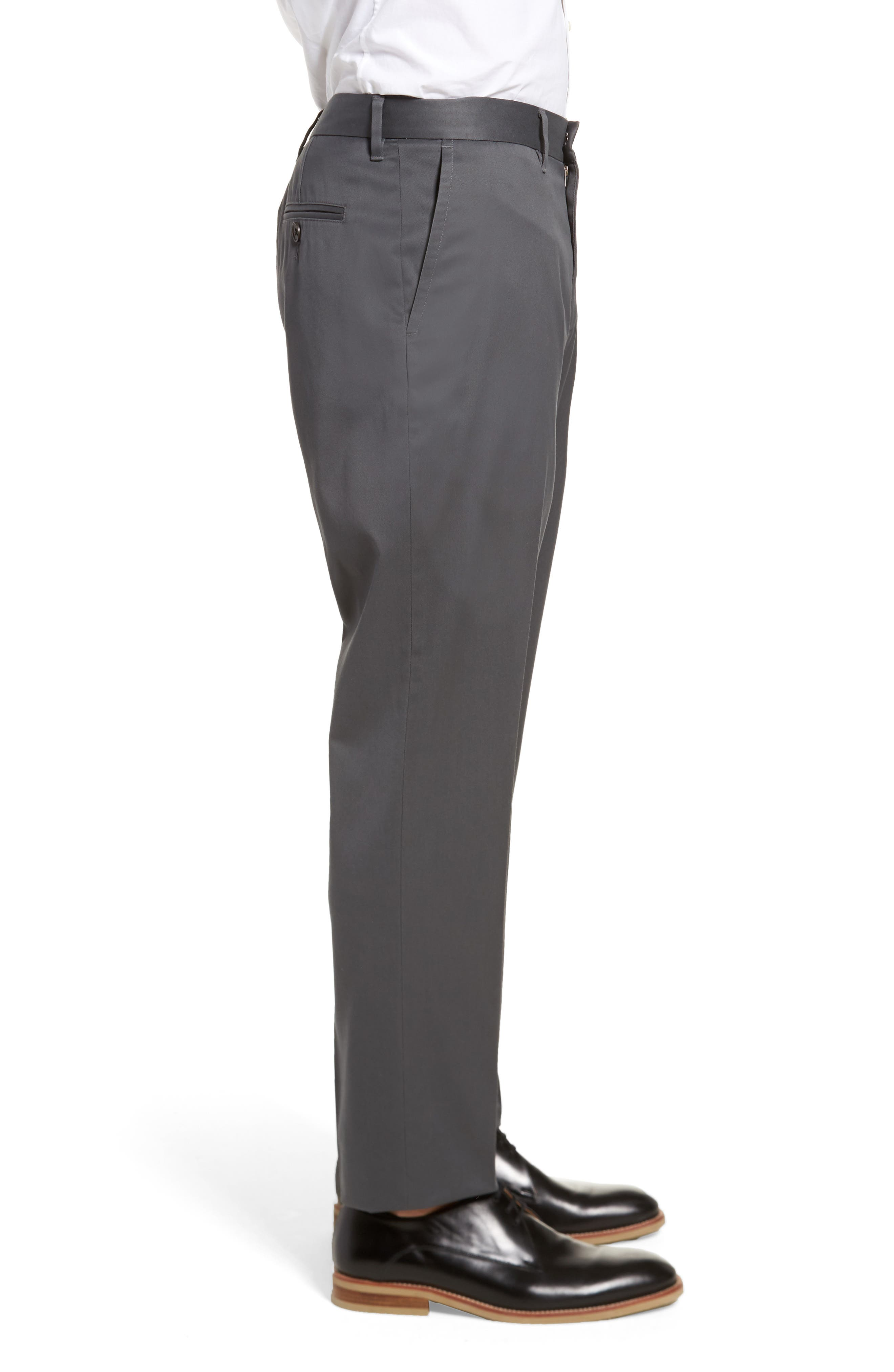 Alternate Image 3  - Nordstrom Men's Shop Athletic Fit Non-Iron Chinos