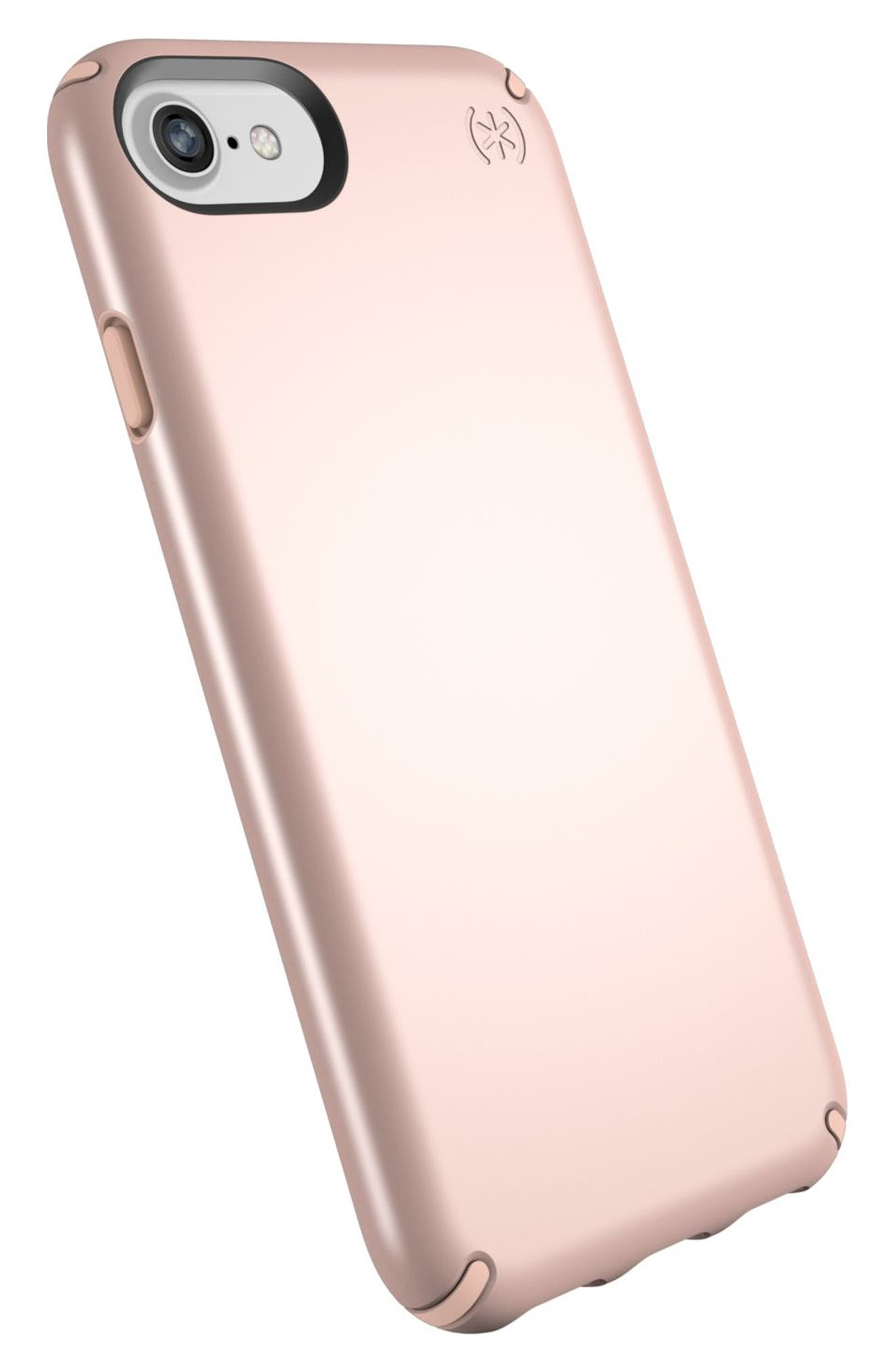 iPhone 6/6s/7/8 Case,                             Alternate thumbnail 4, color,                             Rose Gold Metallic/ Peach
