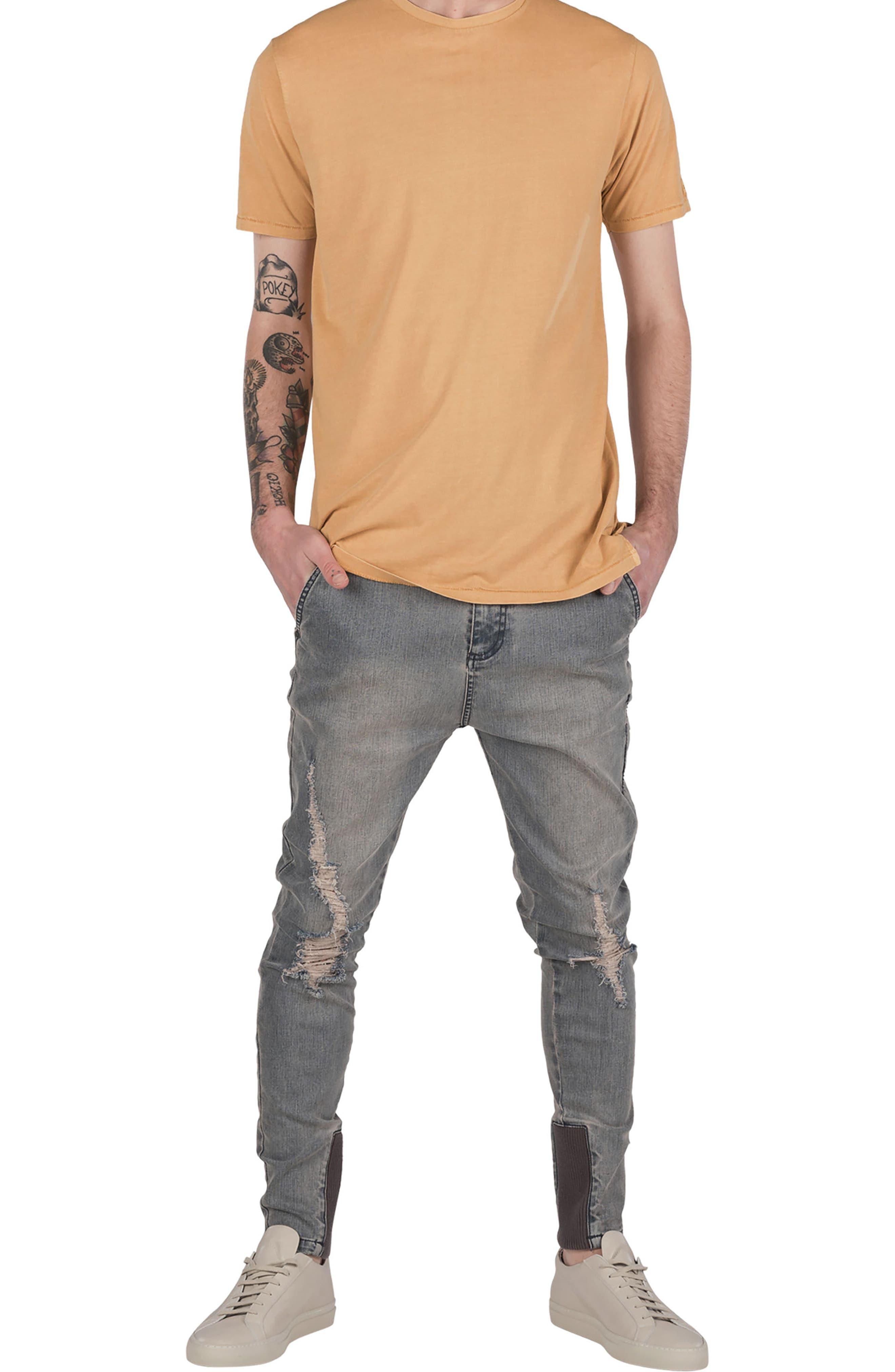 Flintlock T-Shirt,                             Alternate thumbnail 4, color,                             Saffron