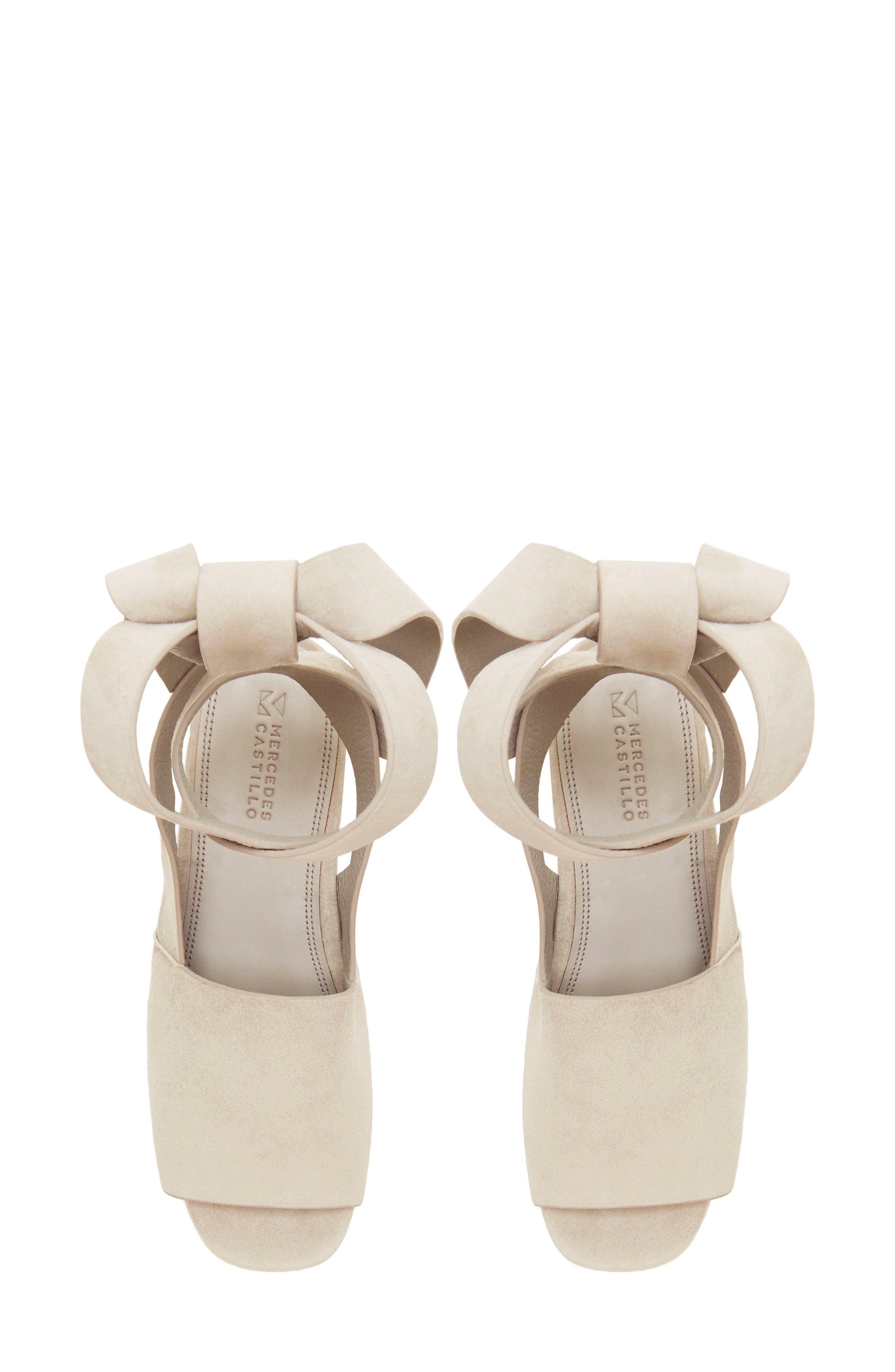 Alternate Image 5  - Mercedes Castillo Darea Ankle Tie Platform Sandal (Women)