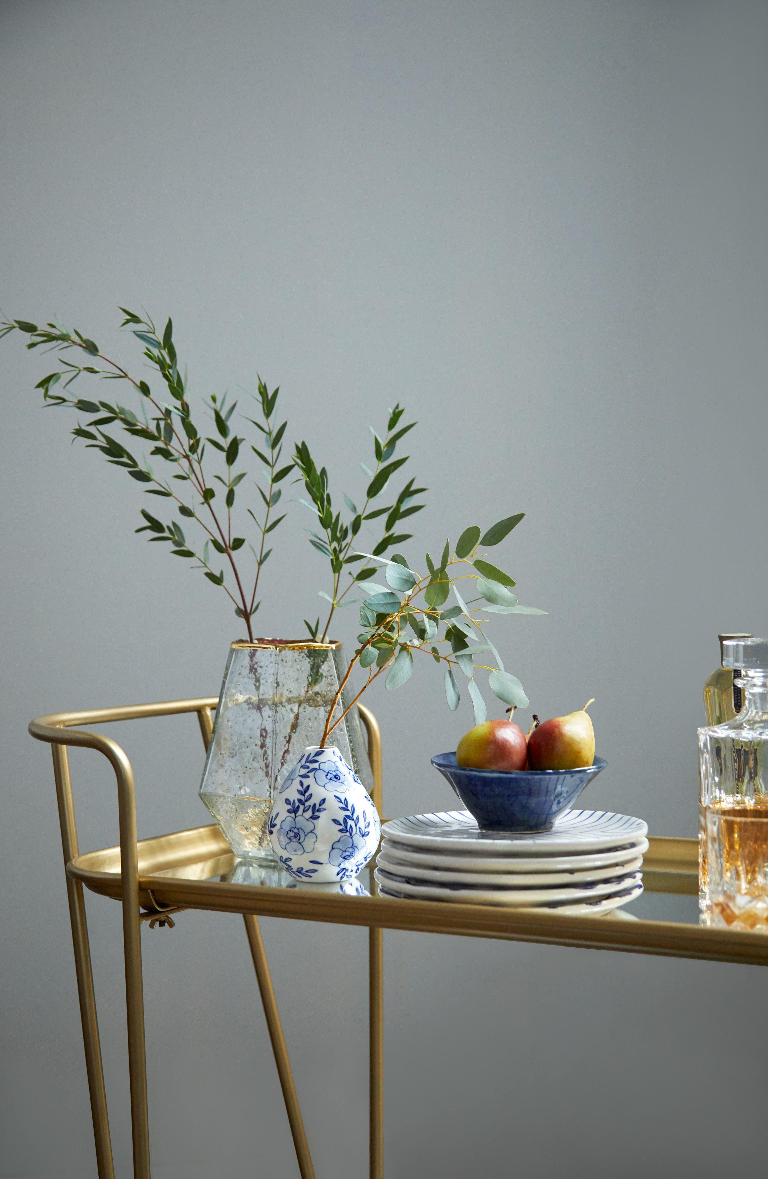 Alternate Image 3  - Accent Decor Eleanor Hand Painted Ceramic Bud Vase