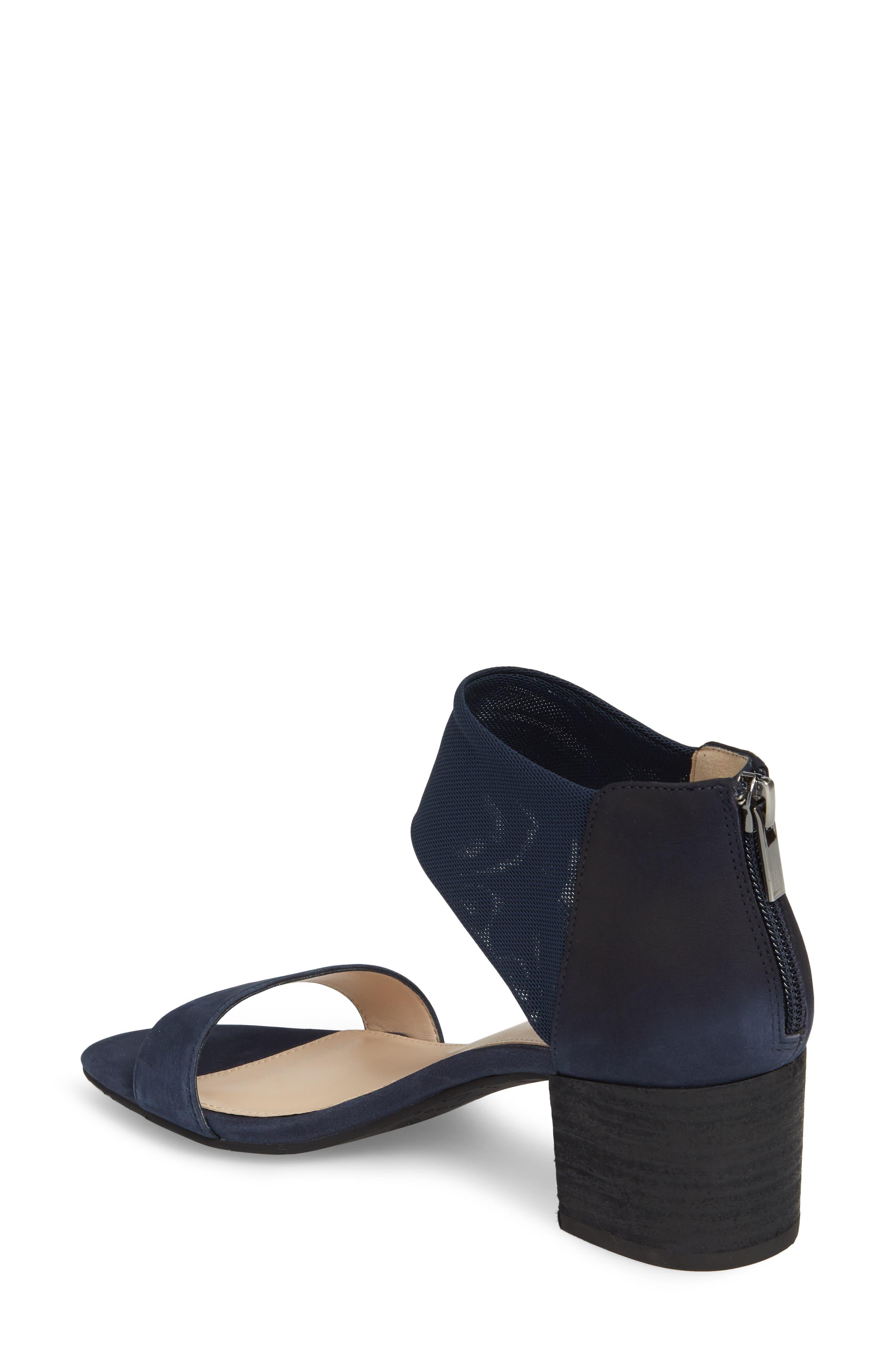 Alden Mesh Strap Sandal,                             Alternate thumbnail 2, color,                             Midnight Nubuck Leather