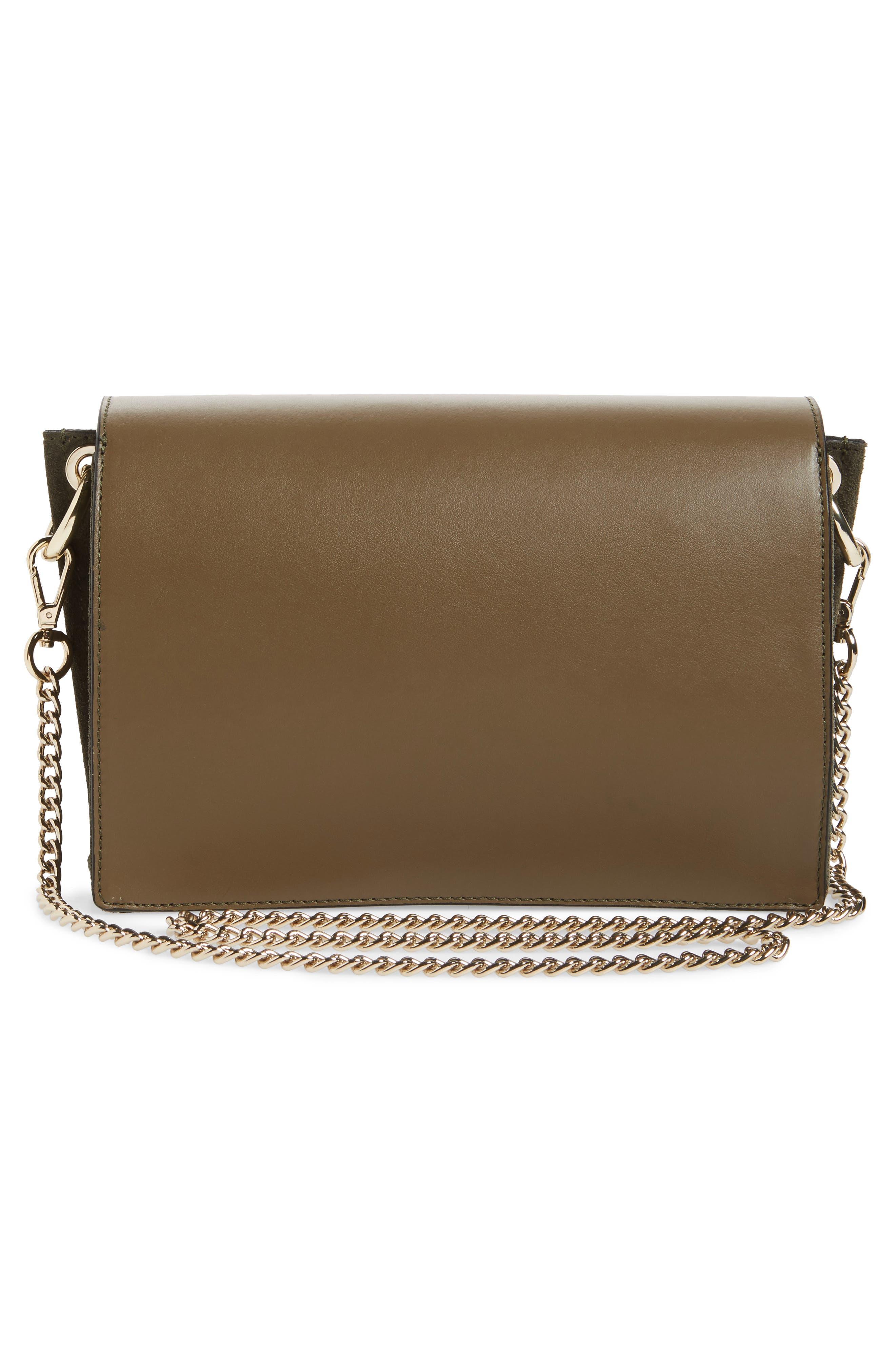 Alternate Image 3  - Topshop Premium Leather & Suede Soko Shoulder Bag