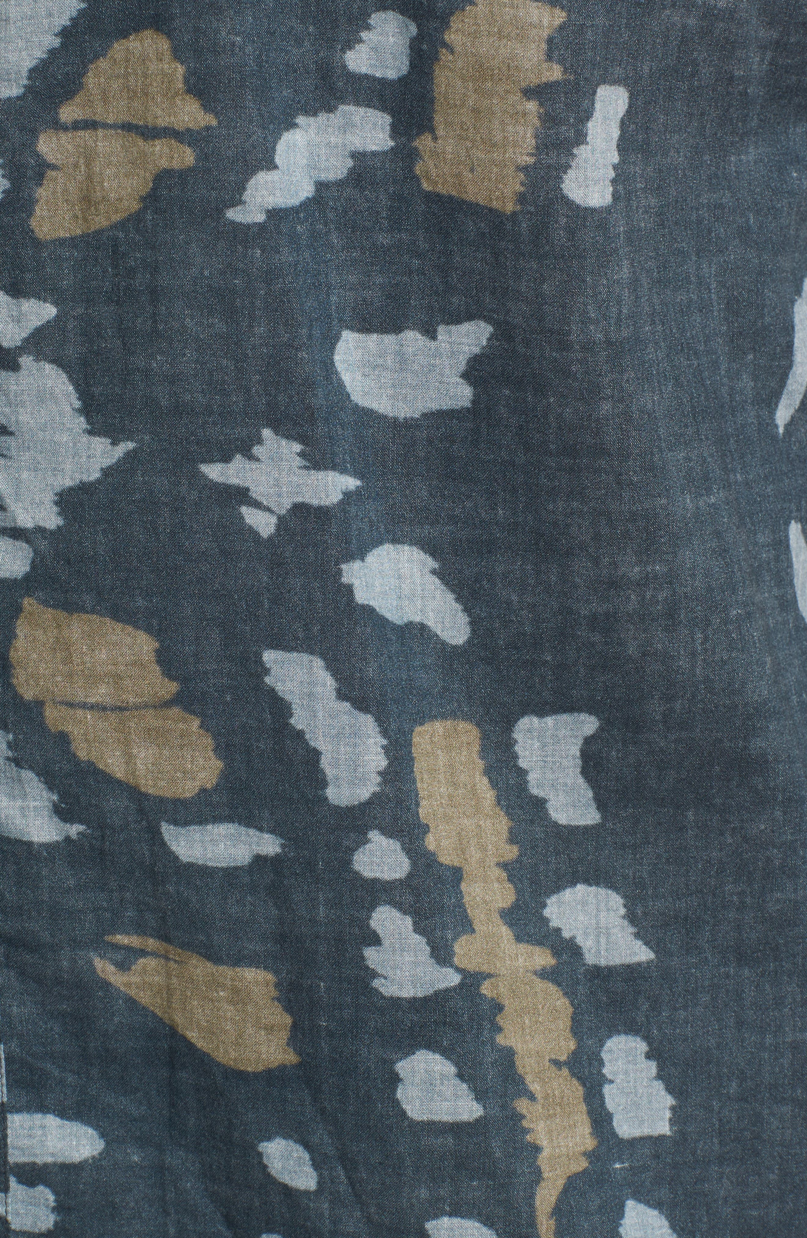 Tuscumbia Slim Fit Sport Shirt,                             Alternate thumbnail 5, color,                             Navy