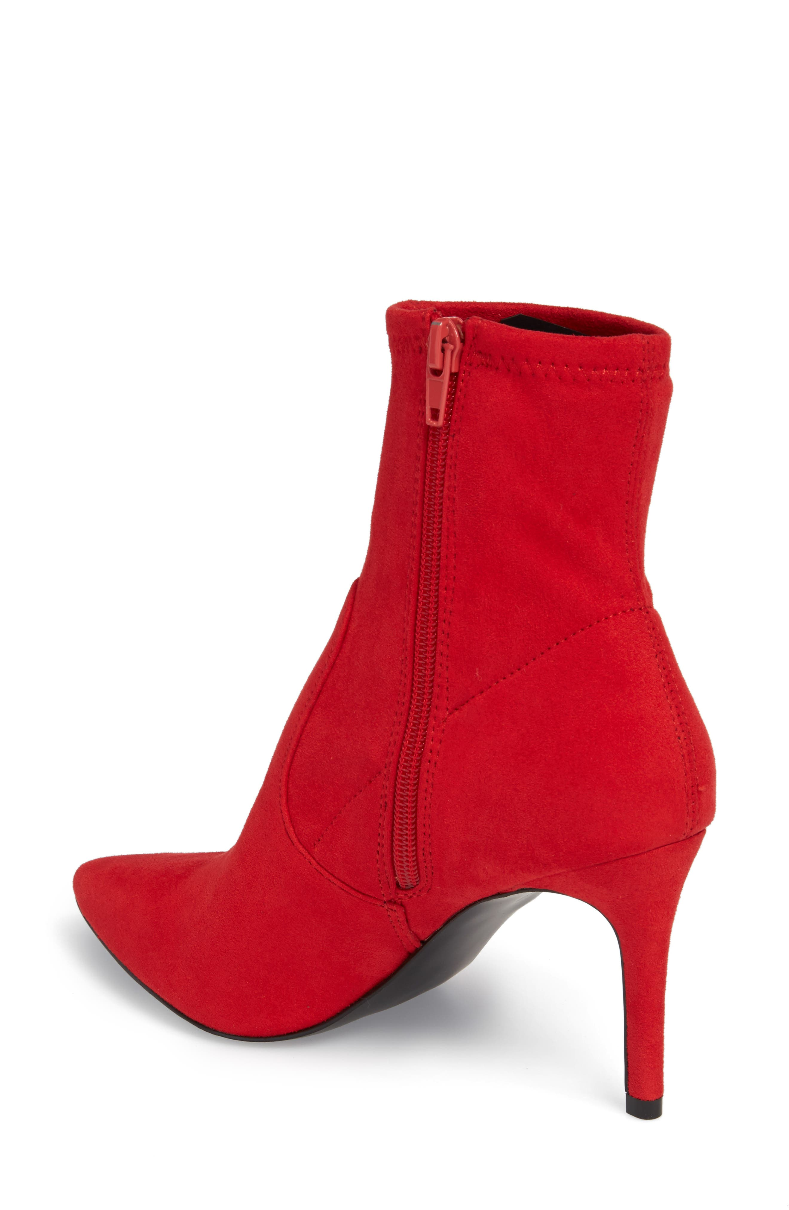 Lava Sock Bootie,                             Alternate thumbnail 2, color,                             Red