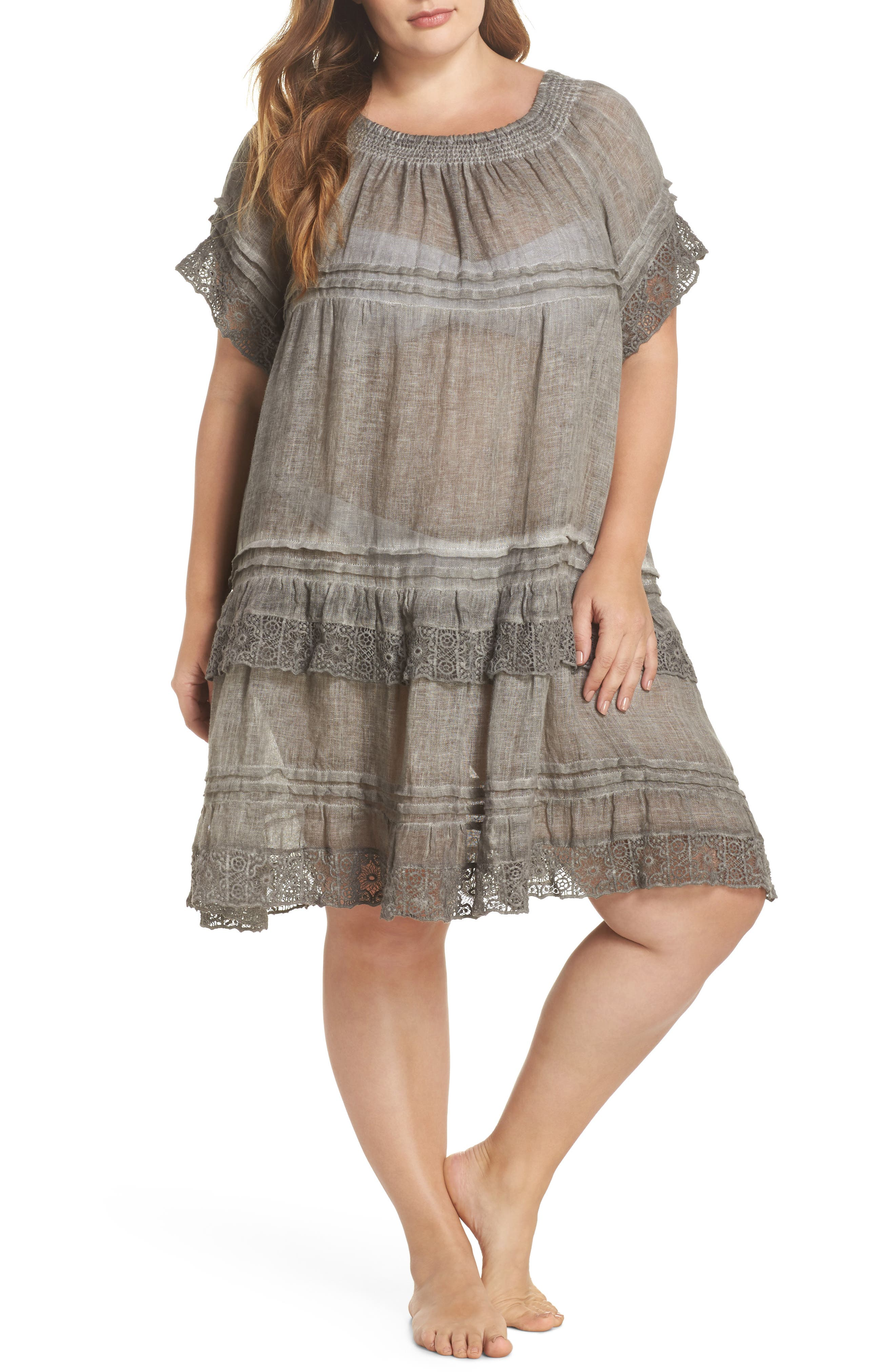 Muche et Muchette Esmerelda Cover-Up Dress (Plus Size)