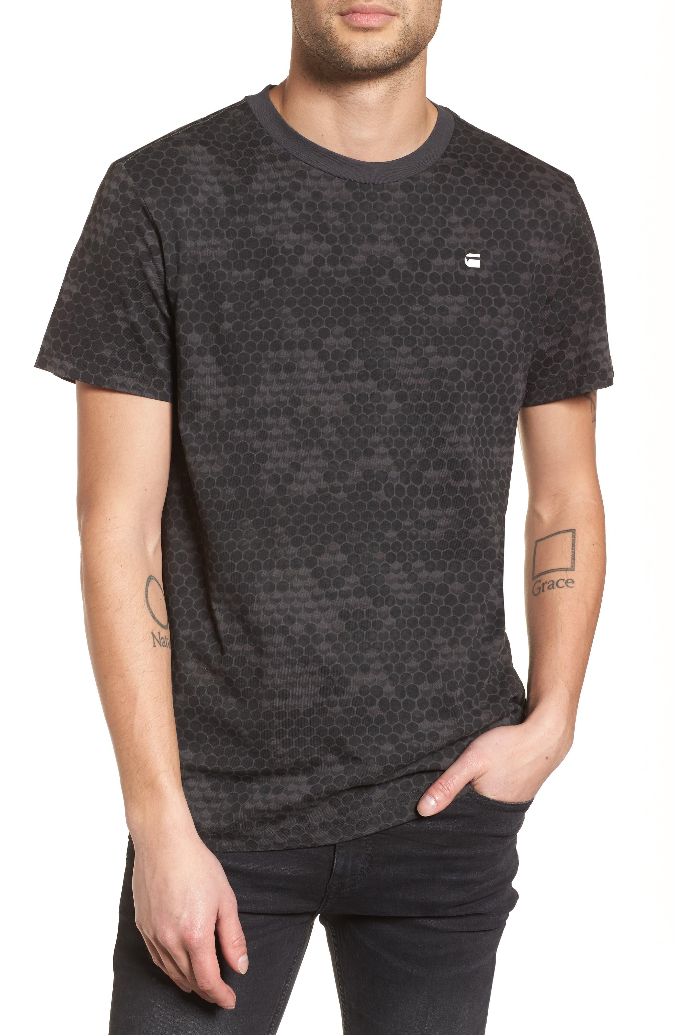 Classic Hoc T-Shirt,                         Main,                         color, Raven