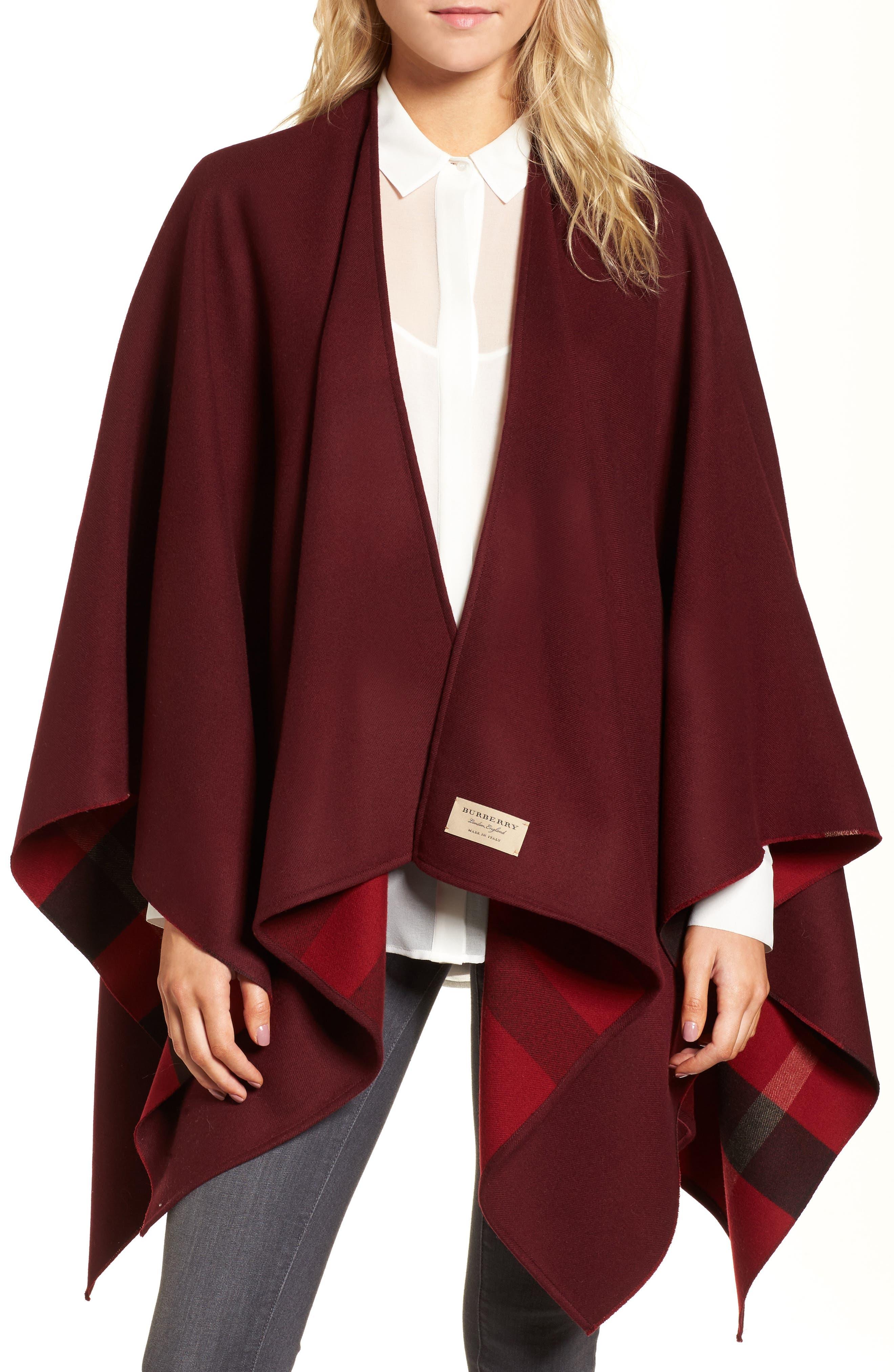 Burberry Merino Wool Reversible Wrap