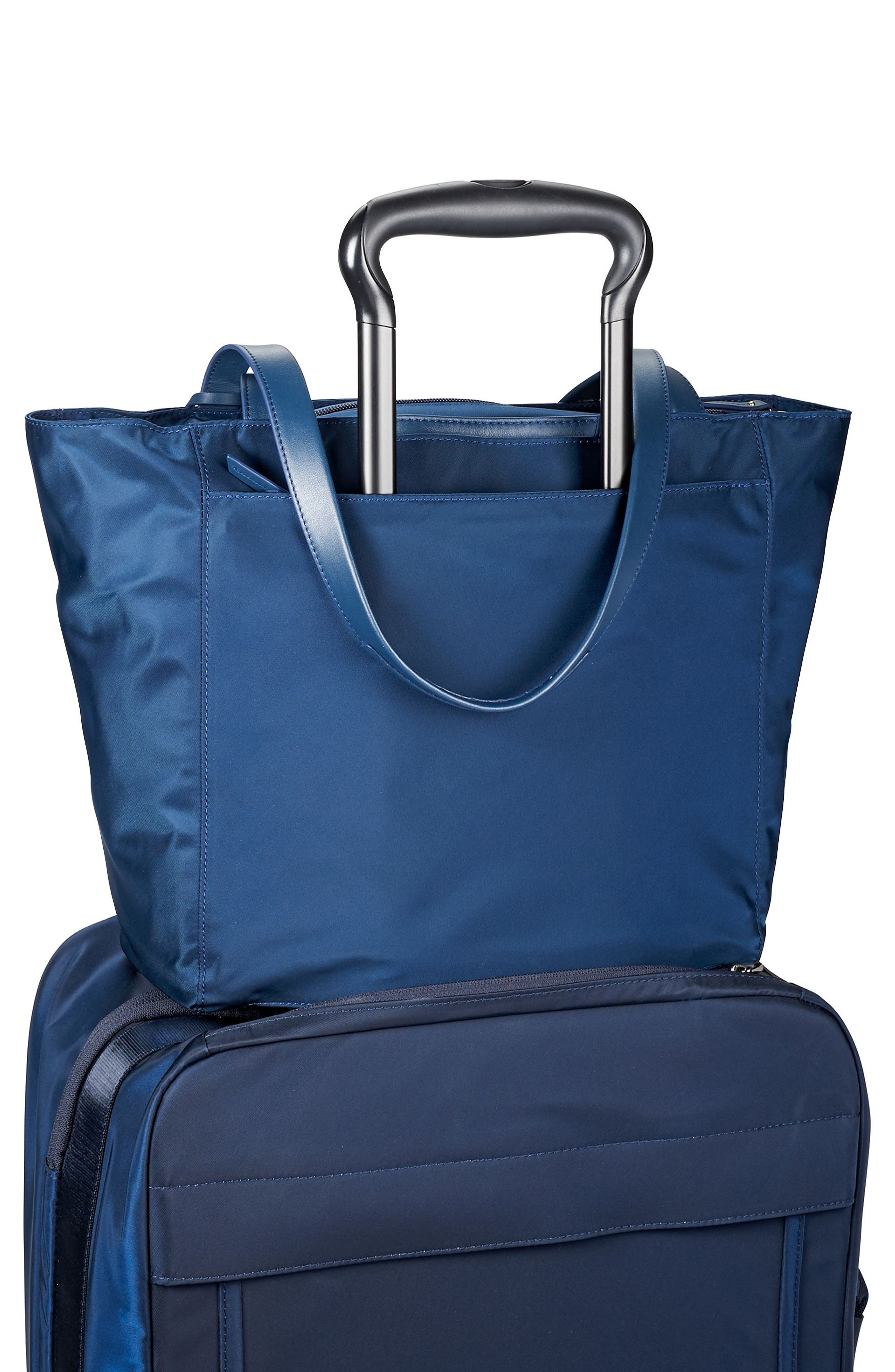 Small M-Tote Nylon Tote,                             Alternate thumbnail 6, color,                             Ocean Blue