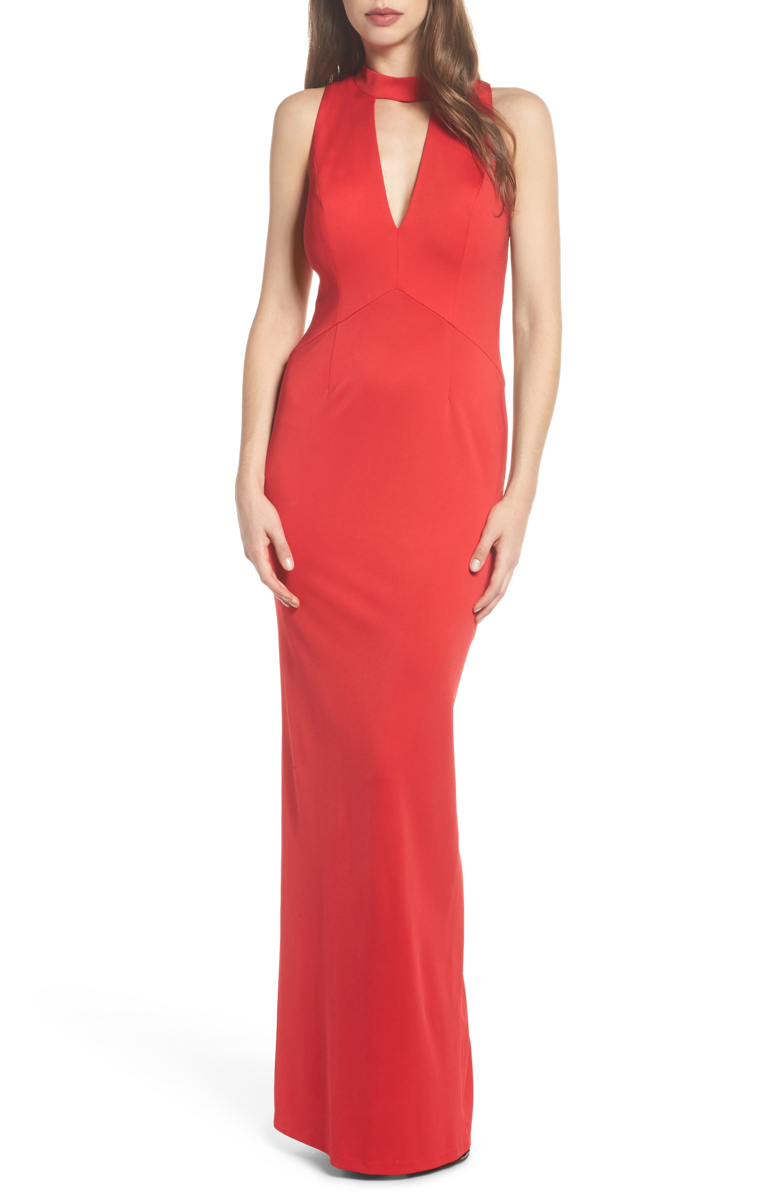 Alternate Image 1 Selected - Adrianna Papell Lola Corset Back Jersey Gown